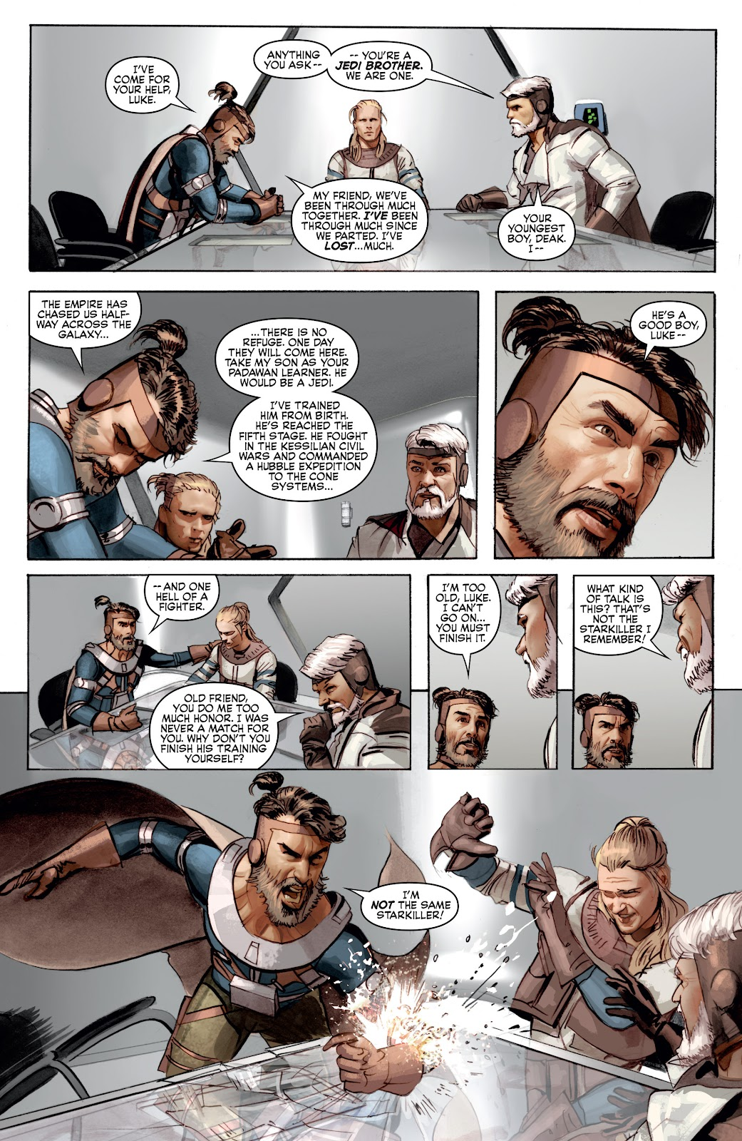 Read online Star Wars Legends: Infinities - Epic Collection comic -  Issue # TPB (Part 4) - 13