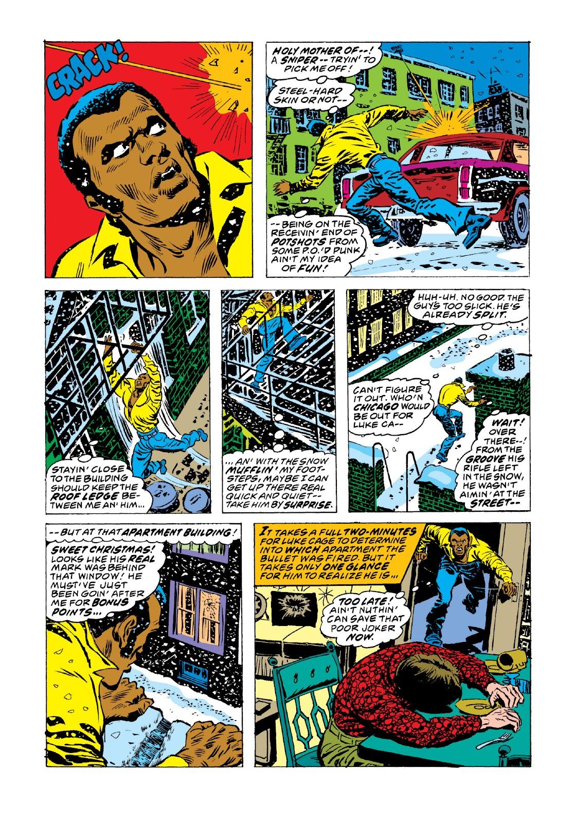 Read online Marvel Masterworks: Luke Cage, Power Man comic -  Issue # TPB 3 (Part 3) - 89