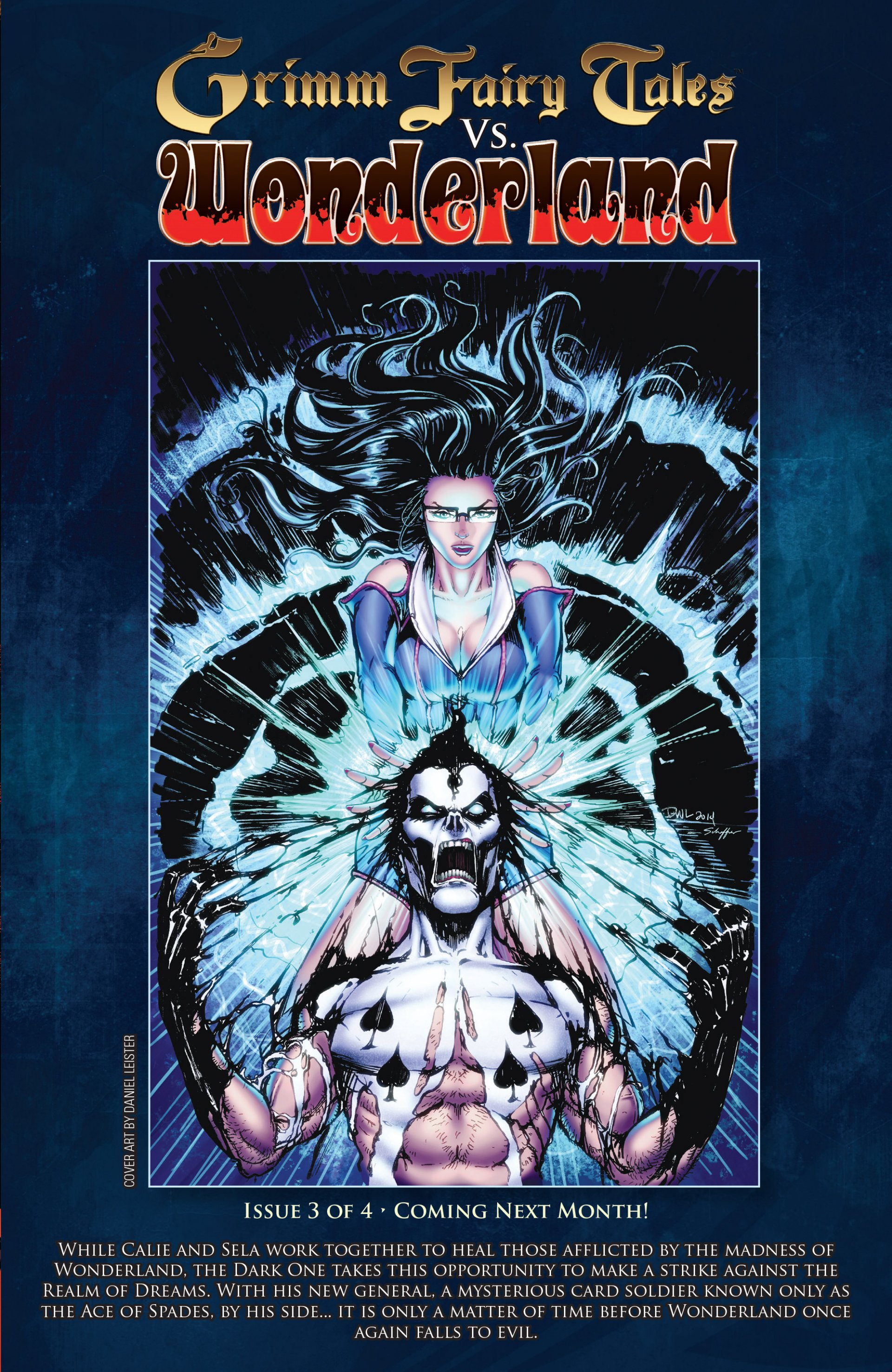 Read online Grimm Fairy Tales vs. Wonderland comic -  Issue #2 - 26
