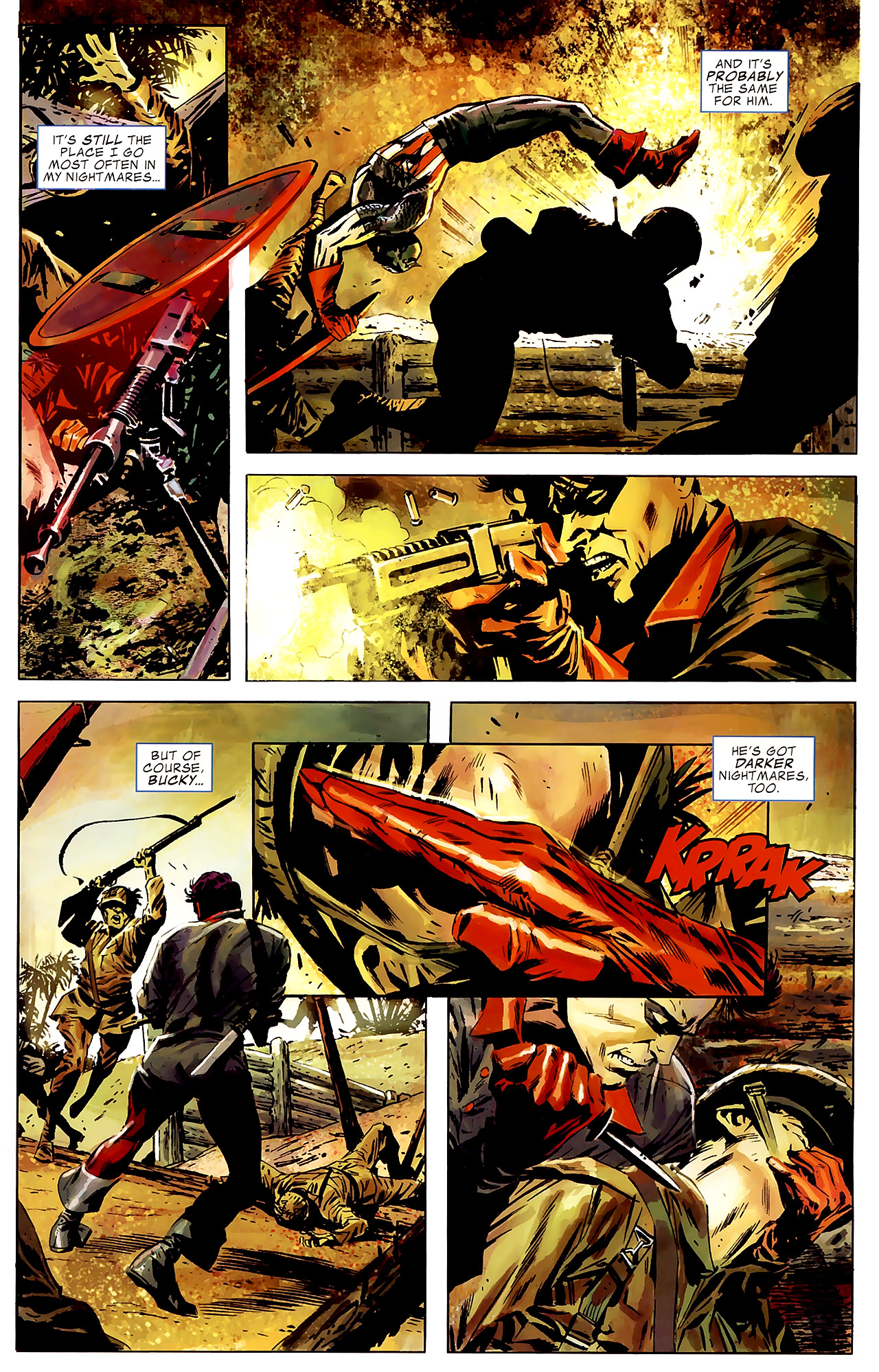 Read online Captain America Reborn: Who Will Wield the Shield? comic -  Issue # Full - 5