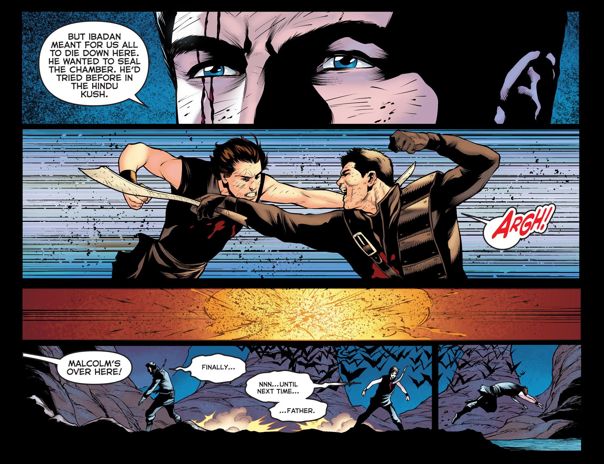 Read online Arrow: The Dark Archer comic -  Issue #12 - 16