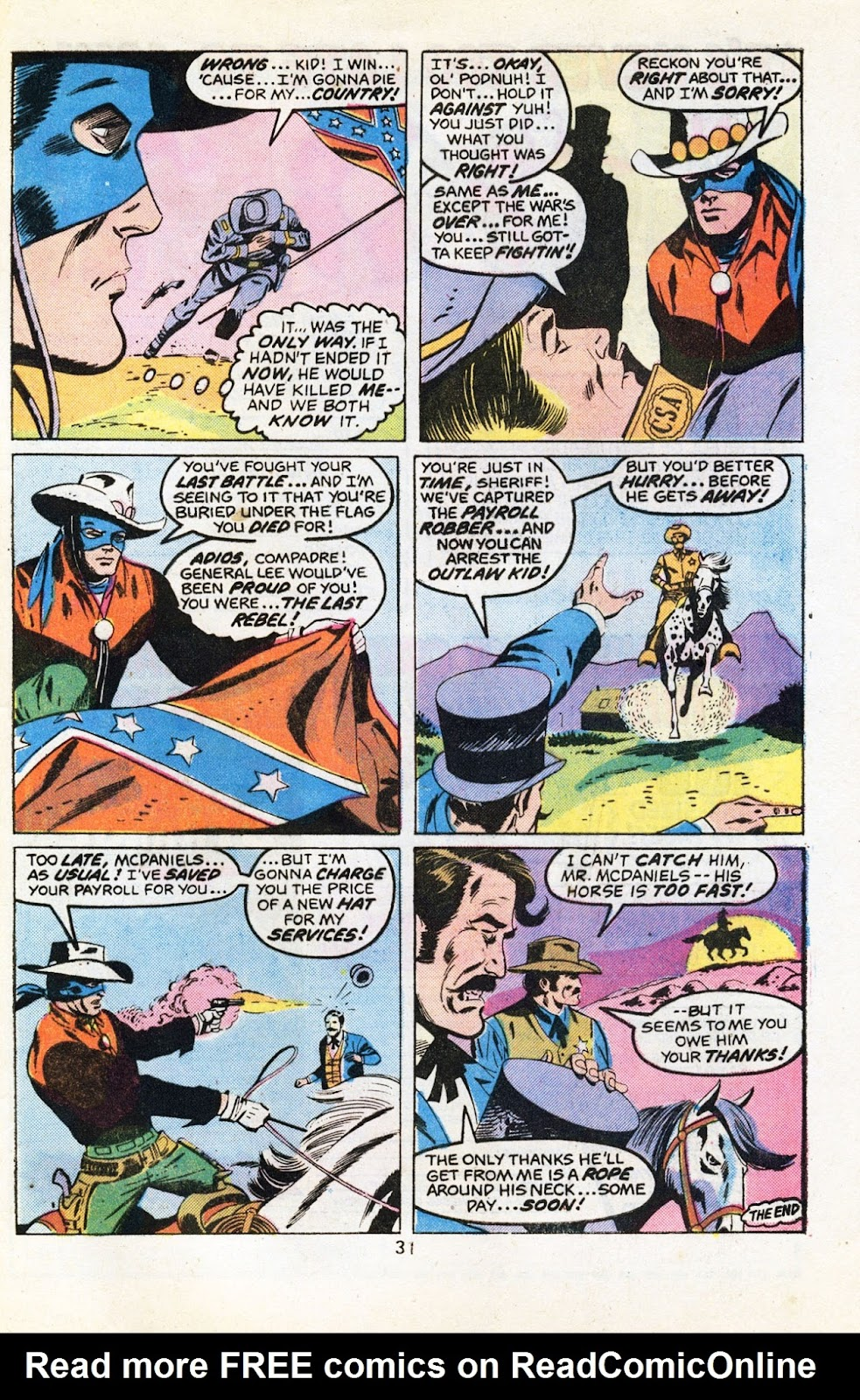 The Outlaw Kid (1970) issue 30 - Page 33