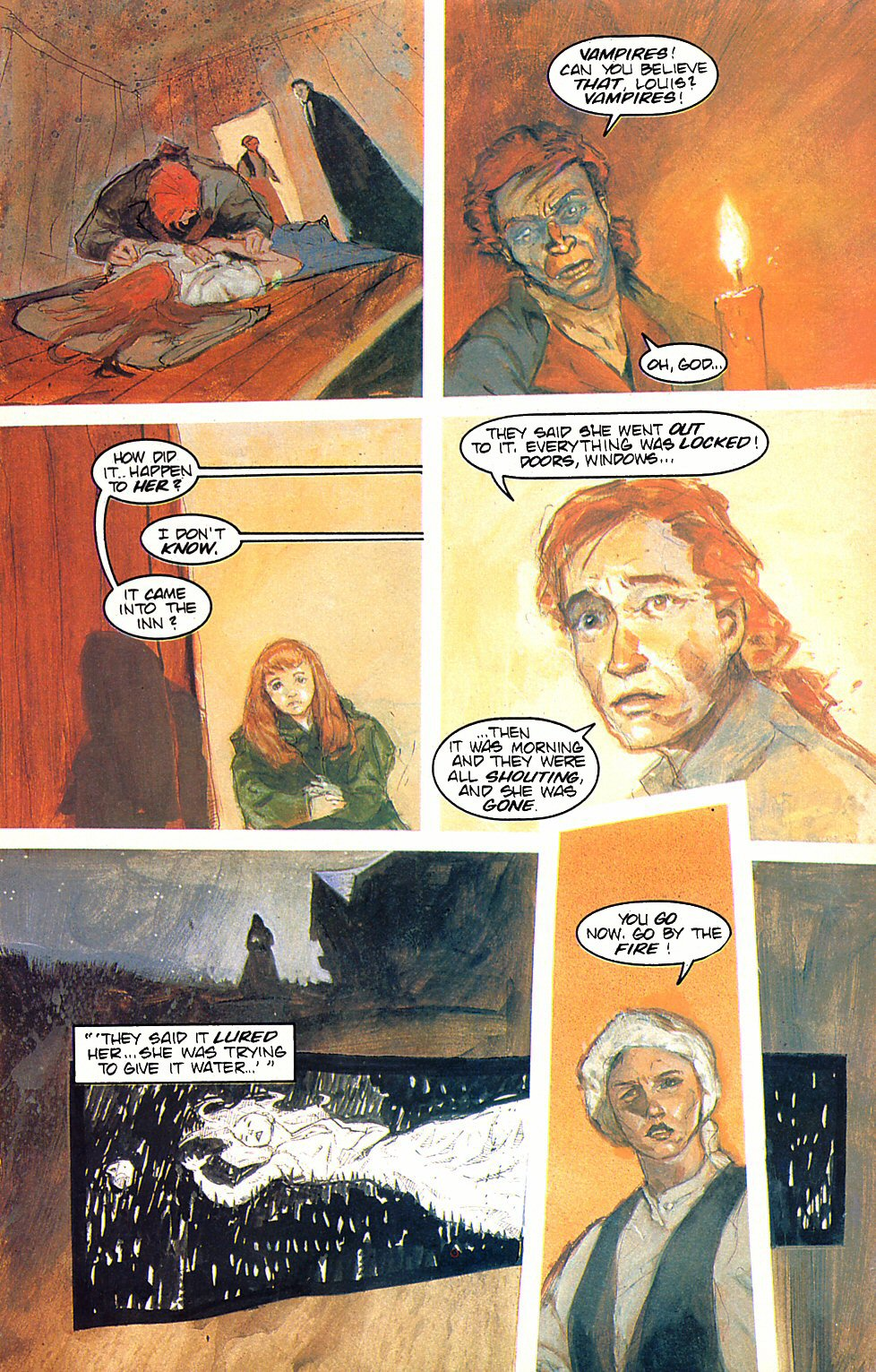Read online Anne Rice's Interview with the Vampire comic -  Issue #6 - 30