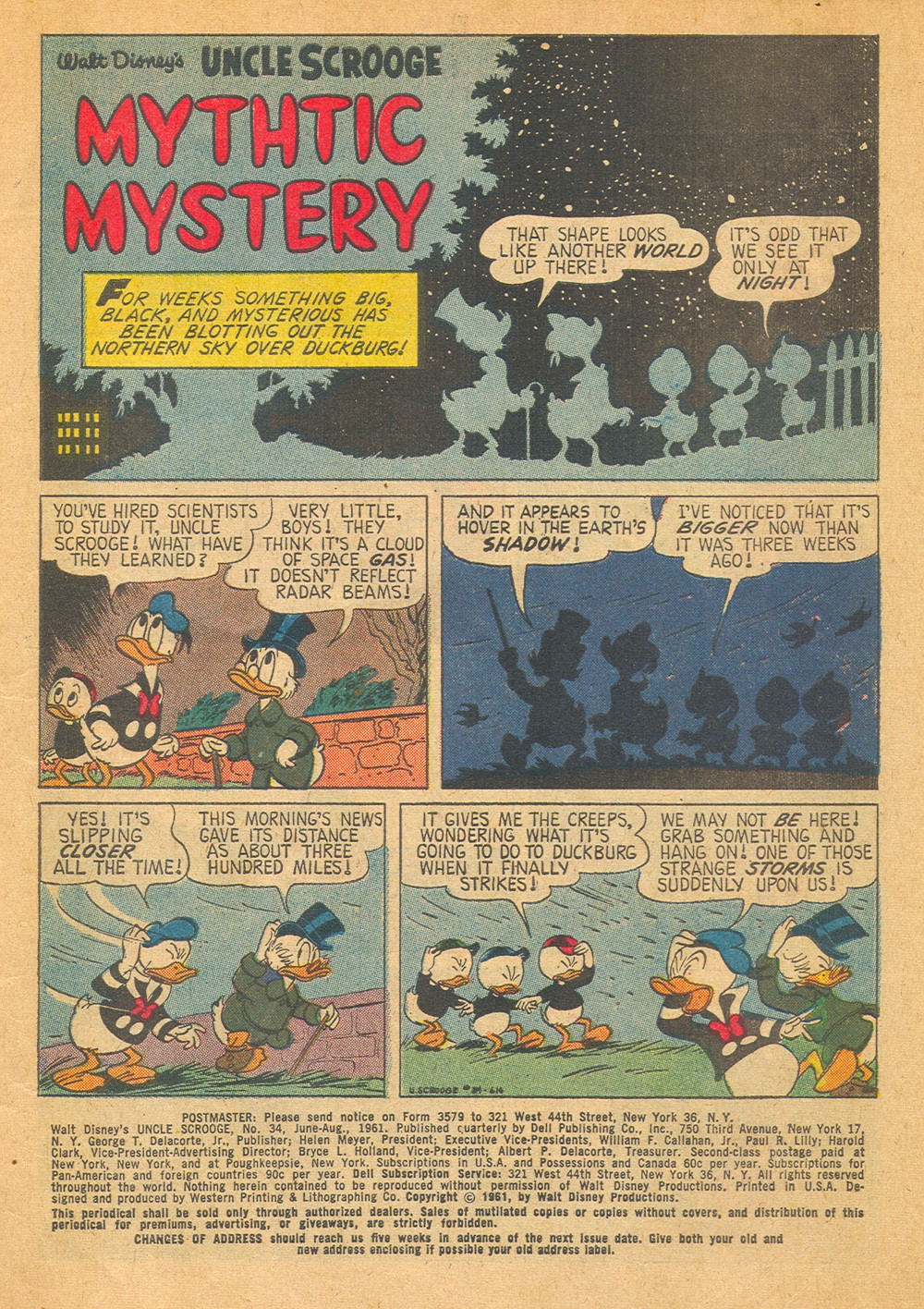 Read online Uncle Scrooge (1953) comic -  Issue #34 - 3
