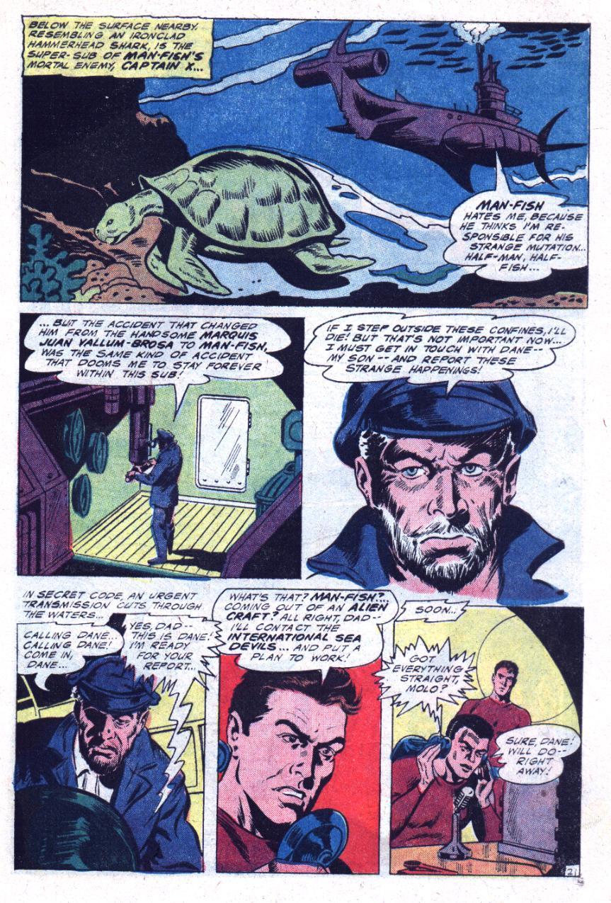 Read online Sea Devils comic -  Issue #30 - 30