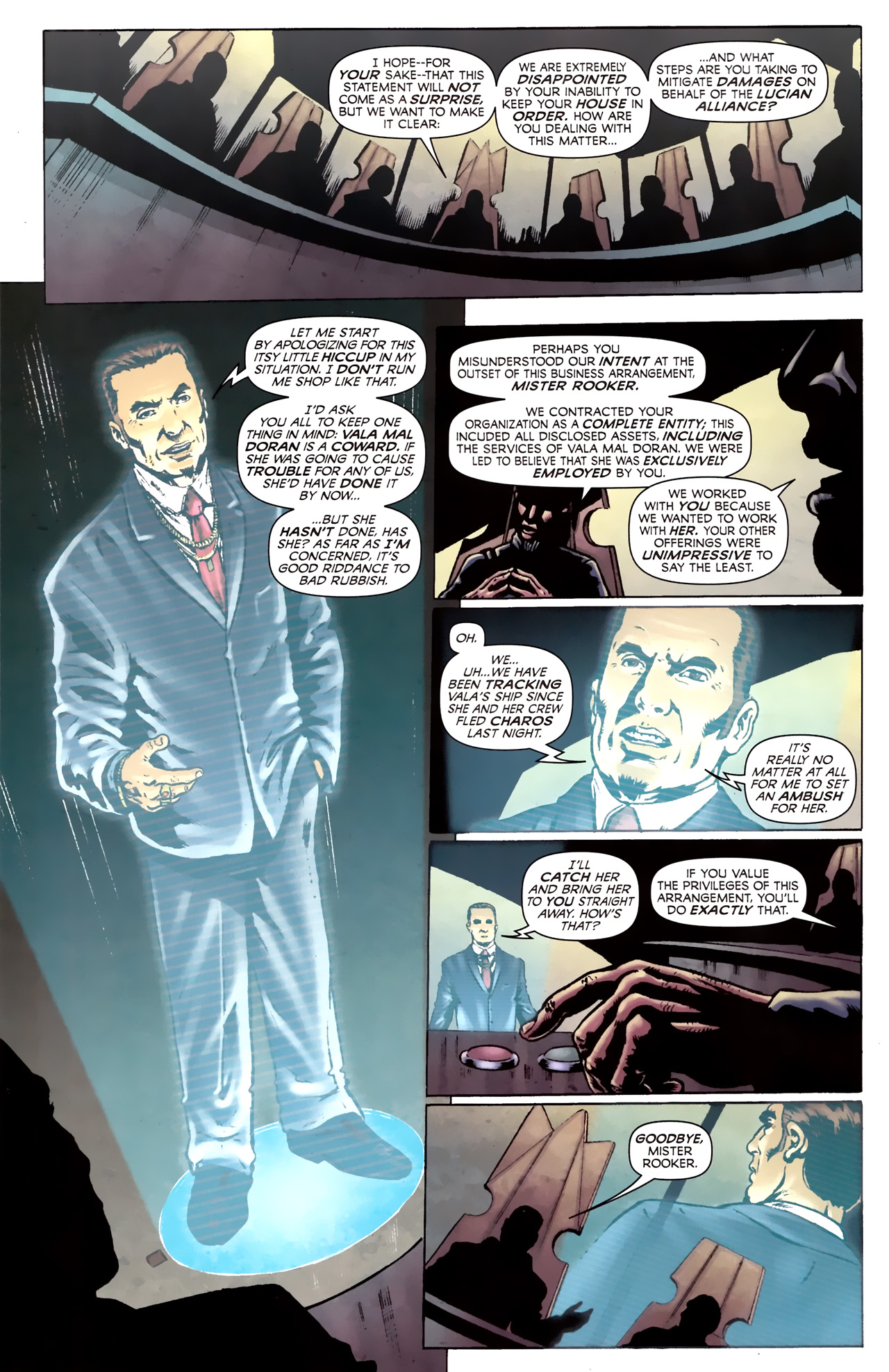 Read online Stargate Vala Mal Doran comic -  Issue #2 - 4