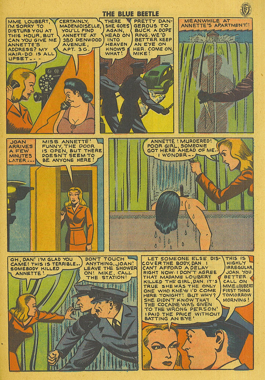 The Blue Beetle issue 35 - Page 26