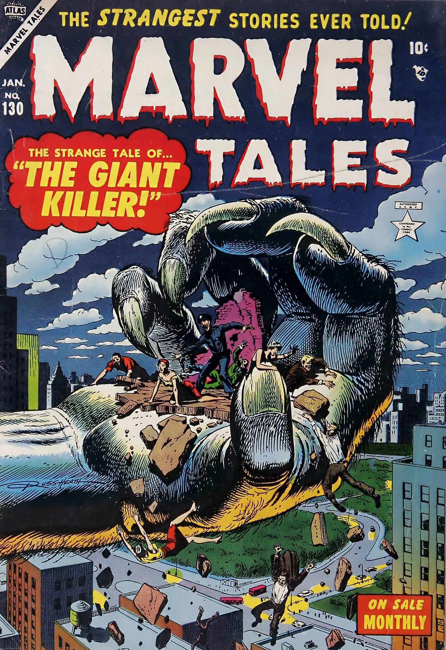 Marvel Tales (1949) 130 Page 1
