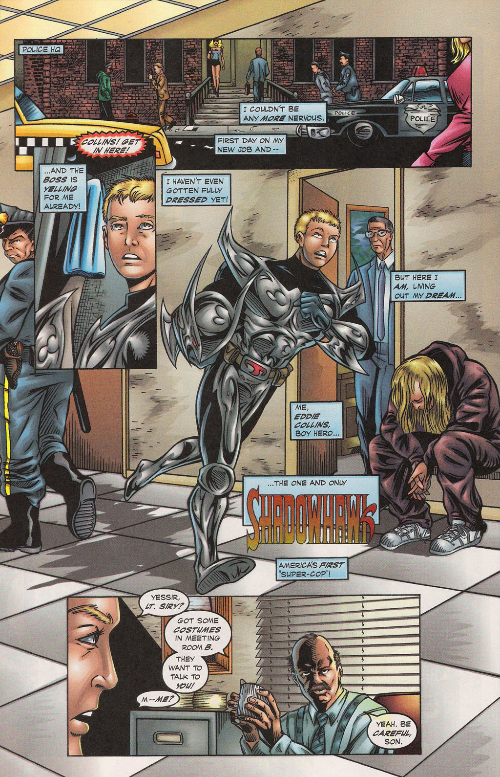 Read online Altered Image comic -  Issue #1 - 16