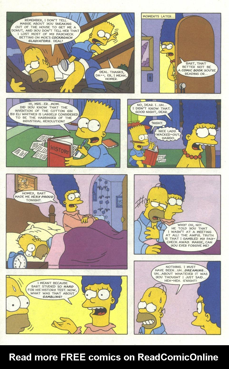 Read online Simpsons Comics comic -  Issue #20 - 9