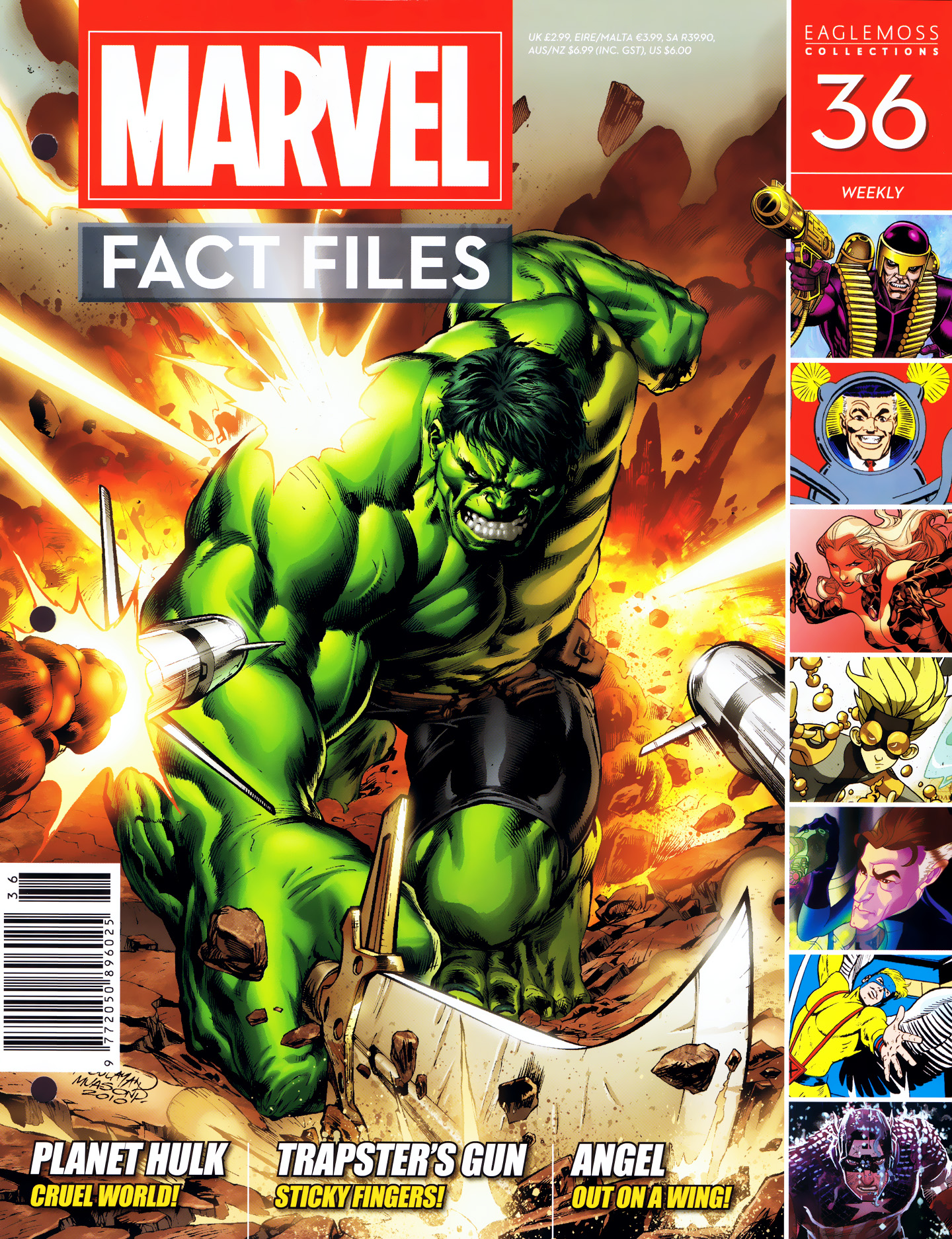 Marvel Fact Files 36 Page 1