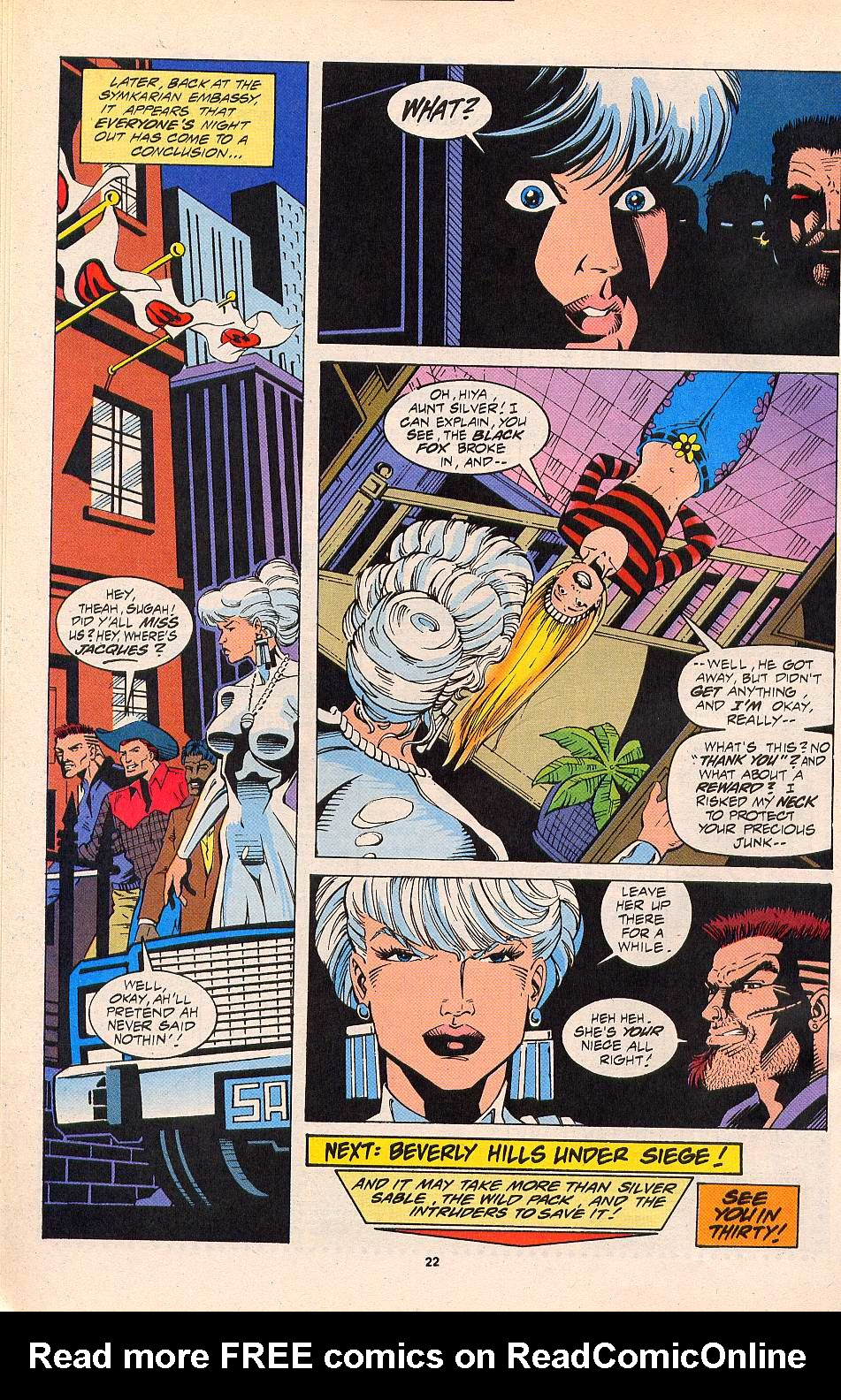 Read online Silver Sable and the Wild Pack comic -  Issue #20 - 18