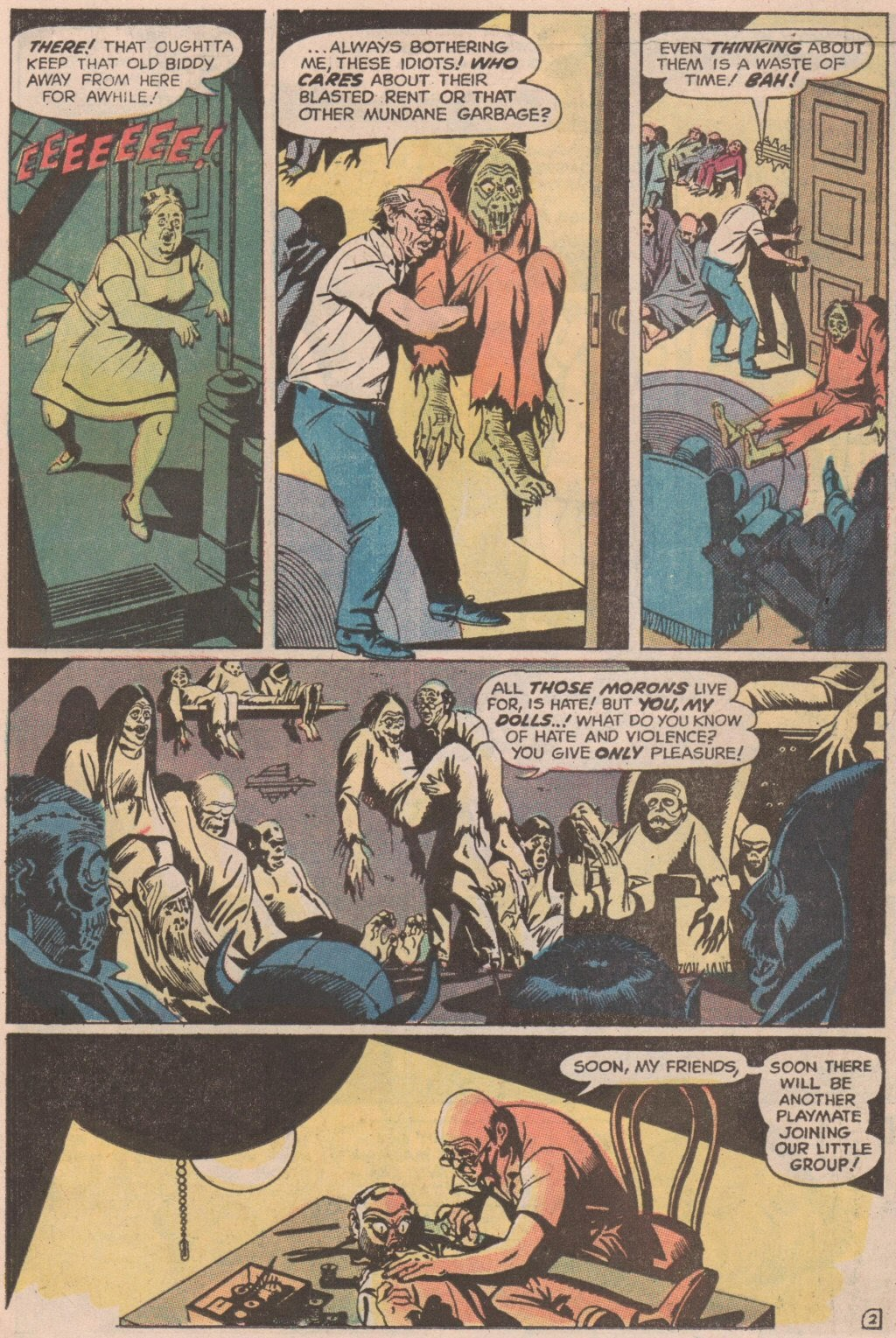 The Witching Hour (1969) issue 6 - Page 12