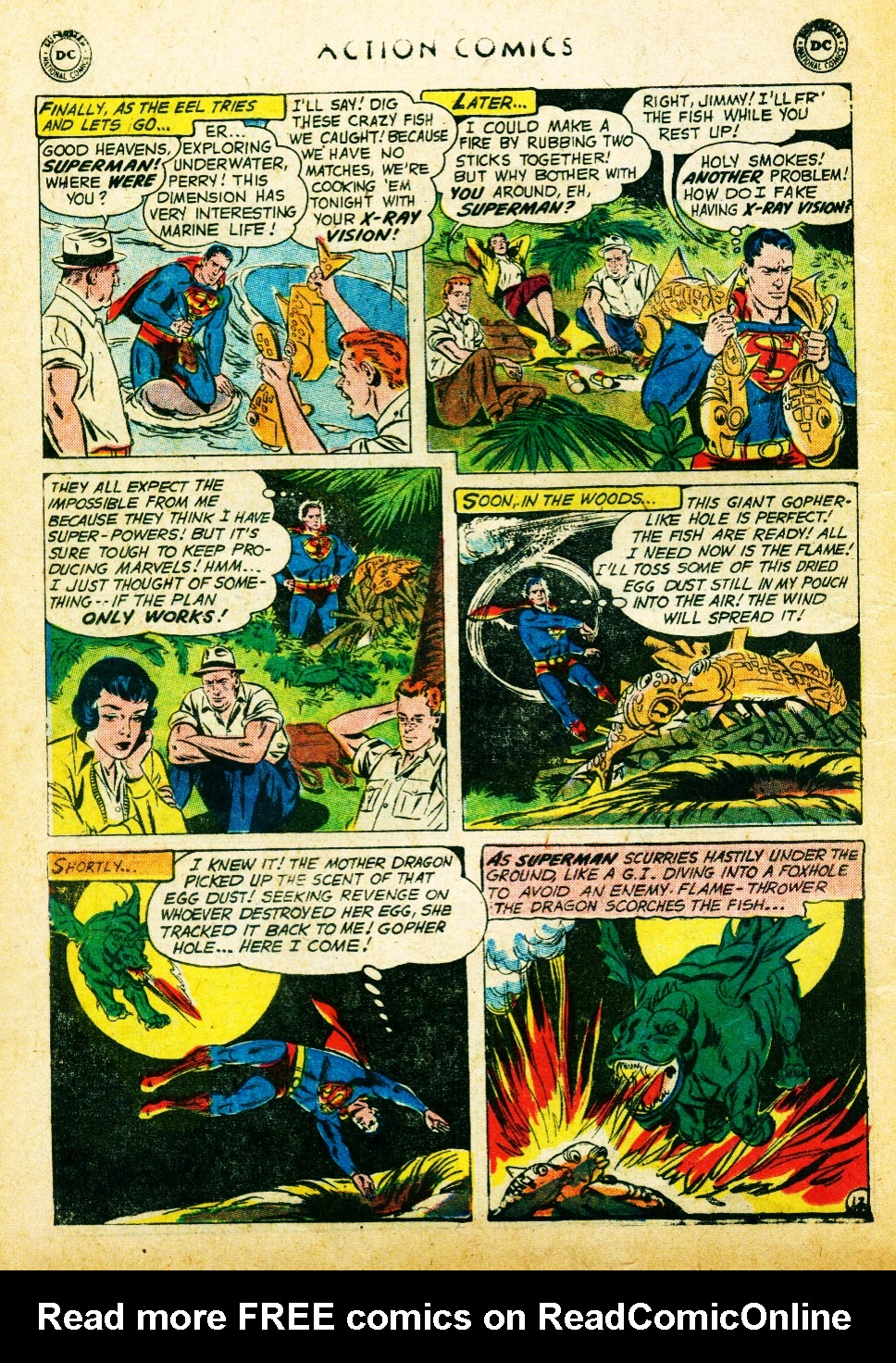 Read online Action Comics (1938) comic -  Issue #262 - 14
