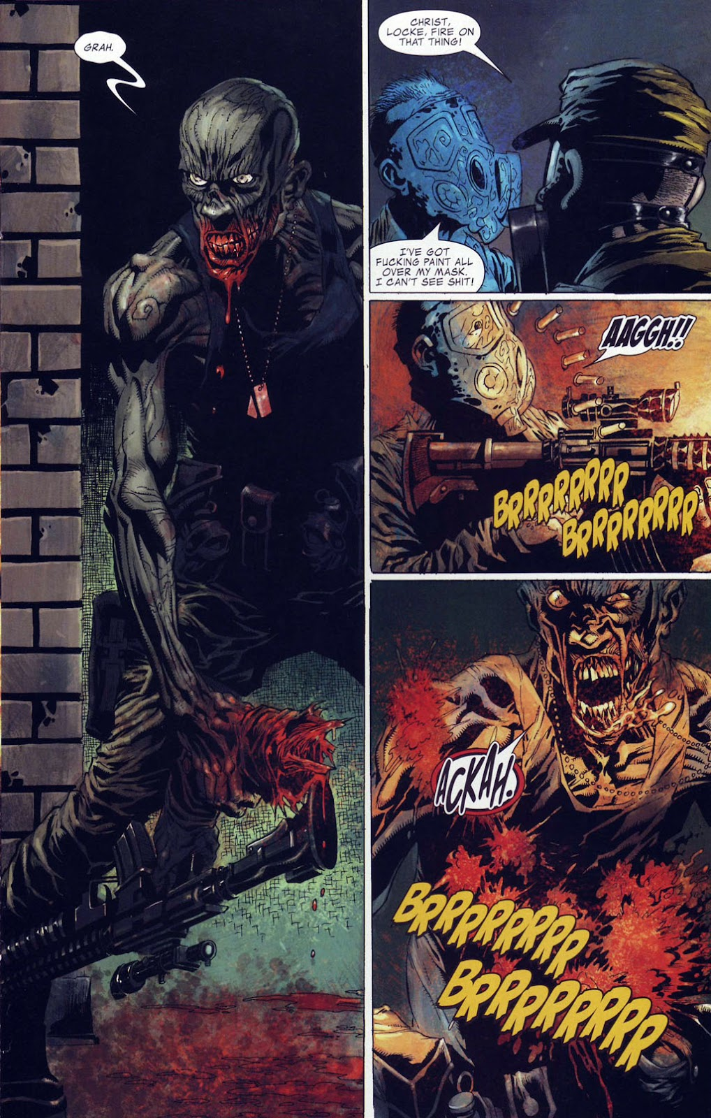 Read online Zombie (2006) comic -  Issue #4 - 11