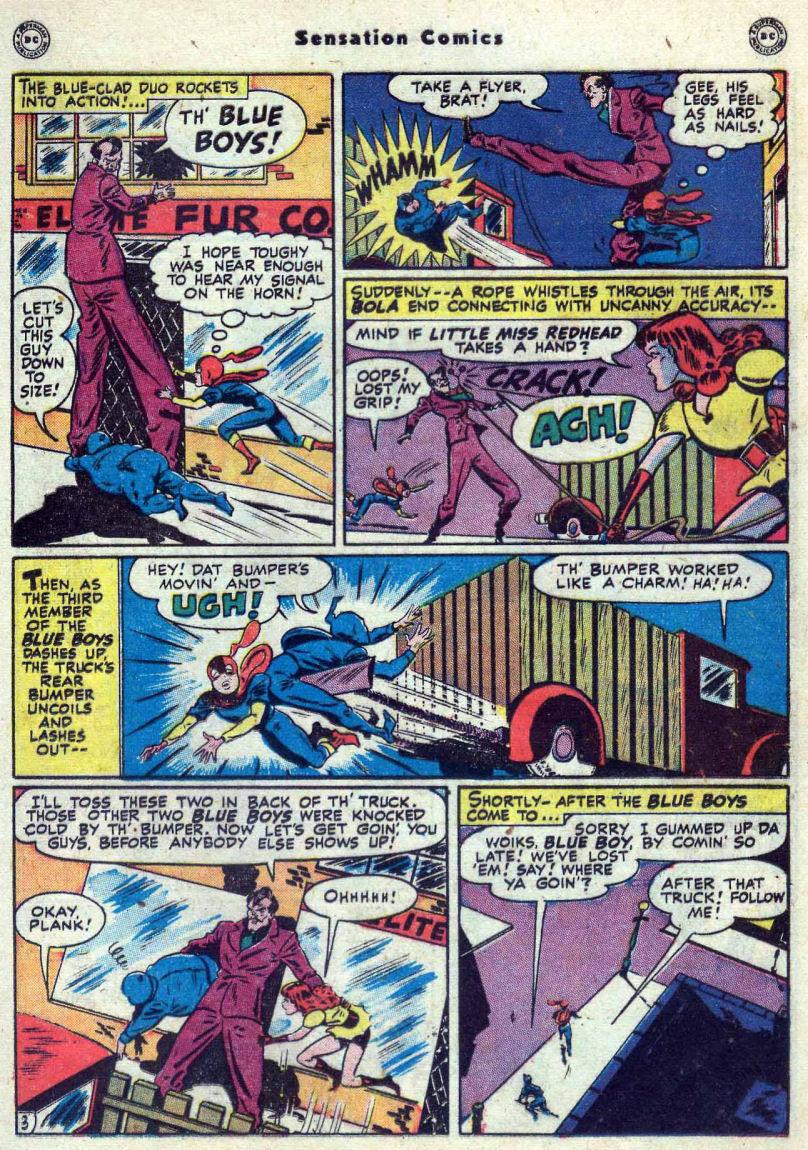 Read online Sensation (Mystery) Comics comic -  Issue #82 - 19