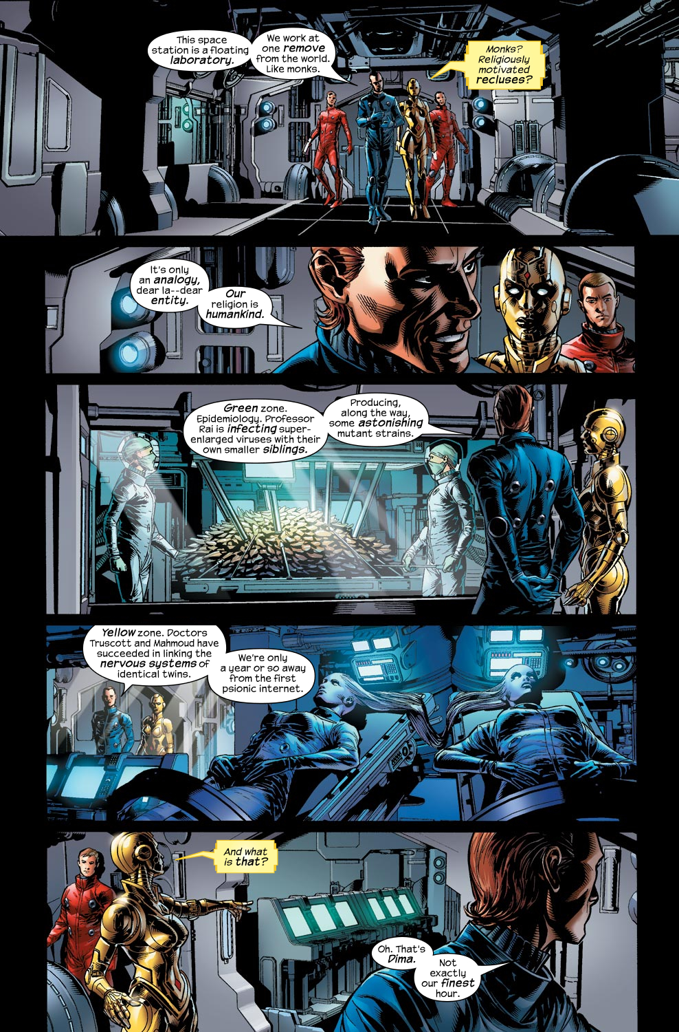 Read online Ultimate Vision comic -  Issue #1 - 12