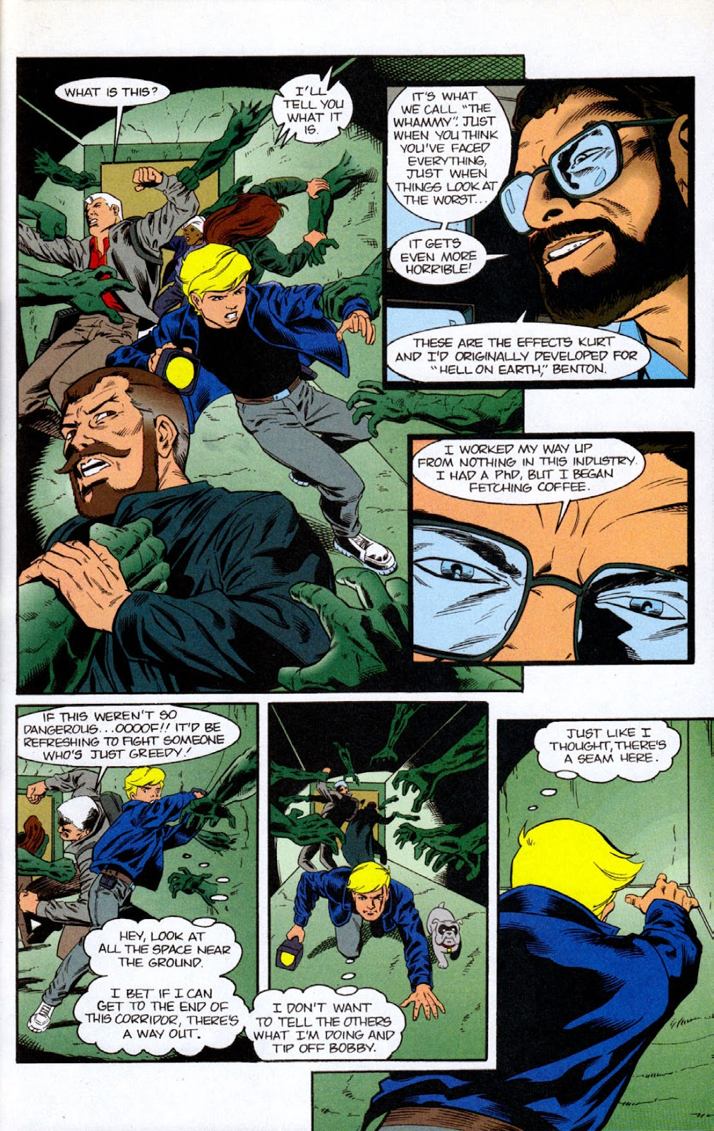 Read online The Real Adventures of Jonny Quest comic -  Issue #7 - 17