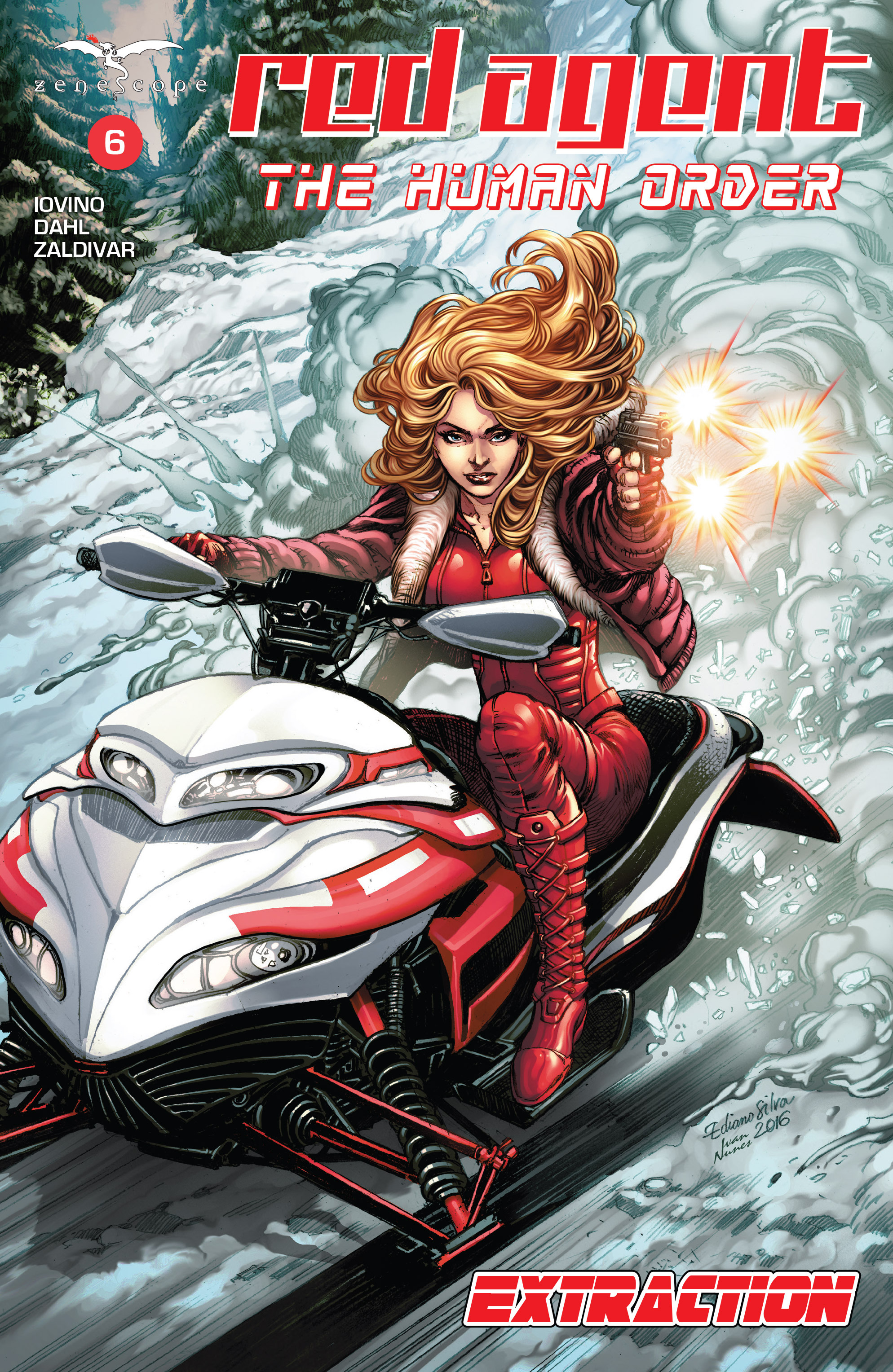 Read online Grimm Fairy Tales presents Red Agent: The Human Order comic -  Issue #6 - 1