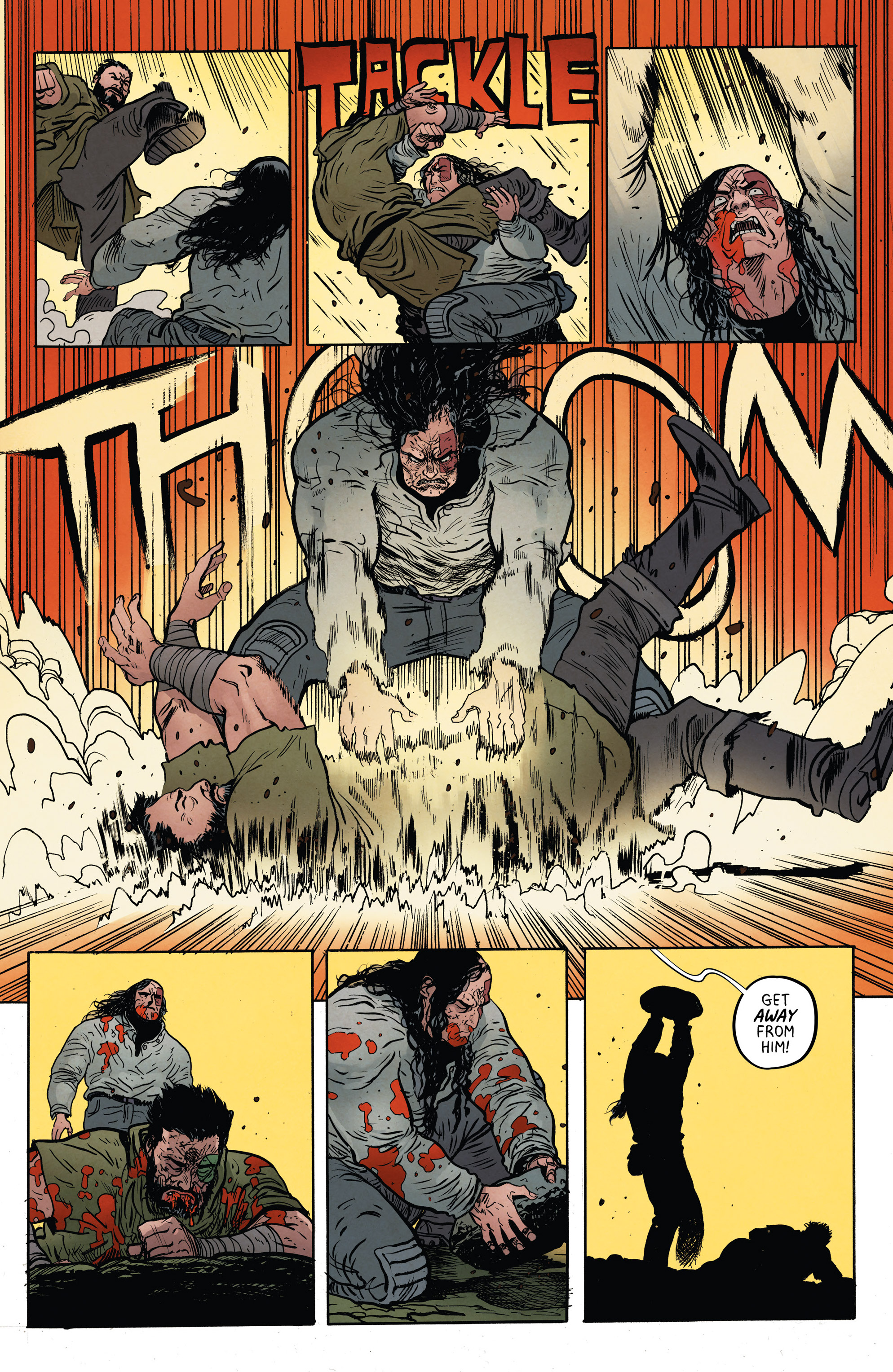 Read online Extremity comic -  Issue #4 - 15