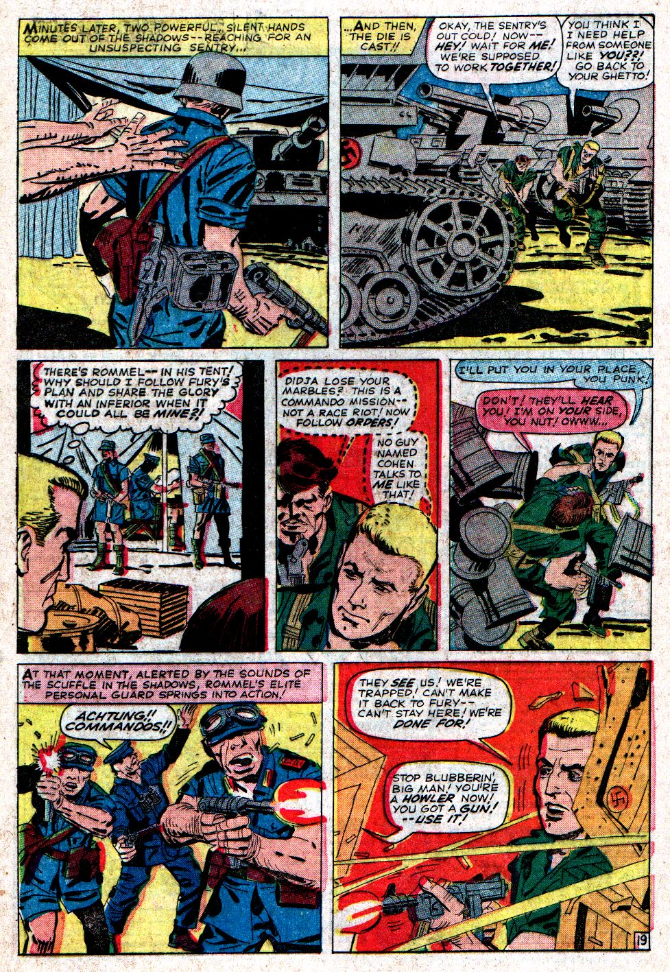 Read online Sgt. Fury comic -  Issue #6 - 28