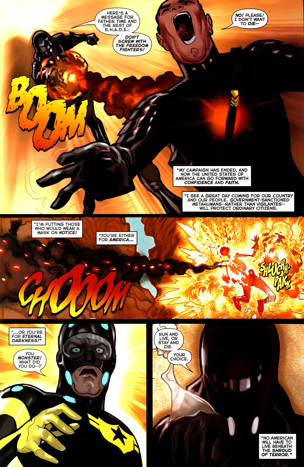Read online Uncle Sam and the Freedom Fighters (2006) comic -  Issue #4 - 4