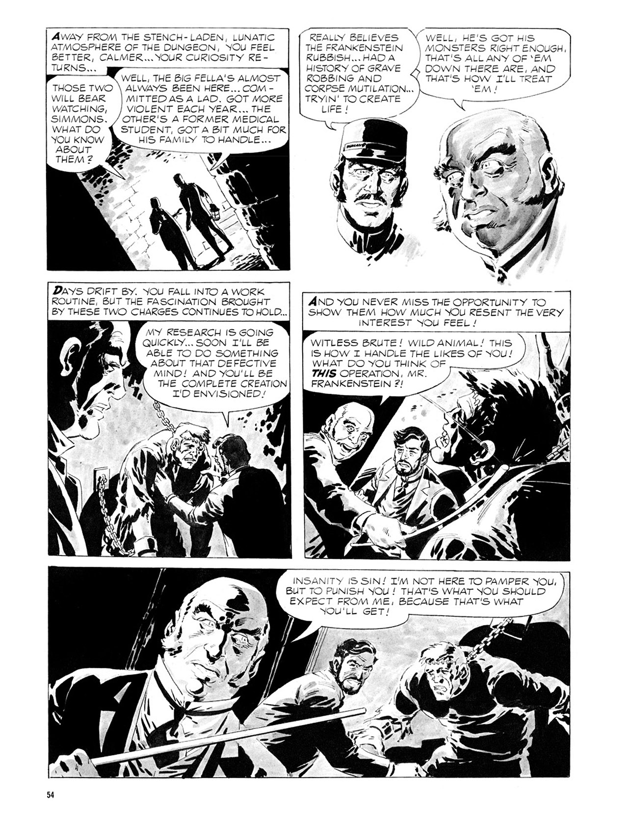 Read online Eerie Archives comic -  Issue # TPB 2 - 55