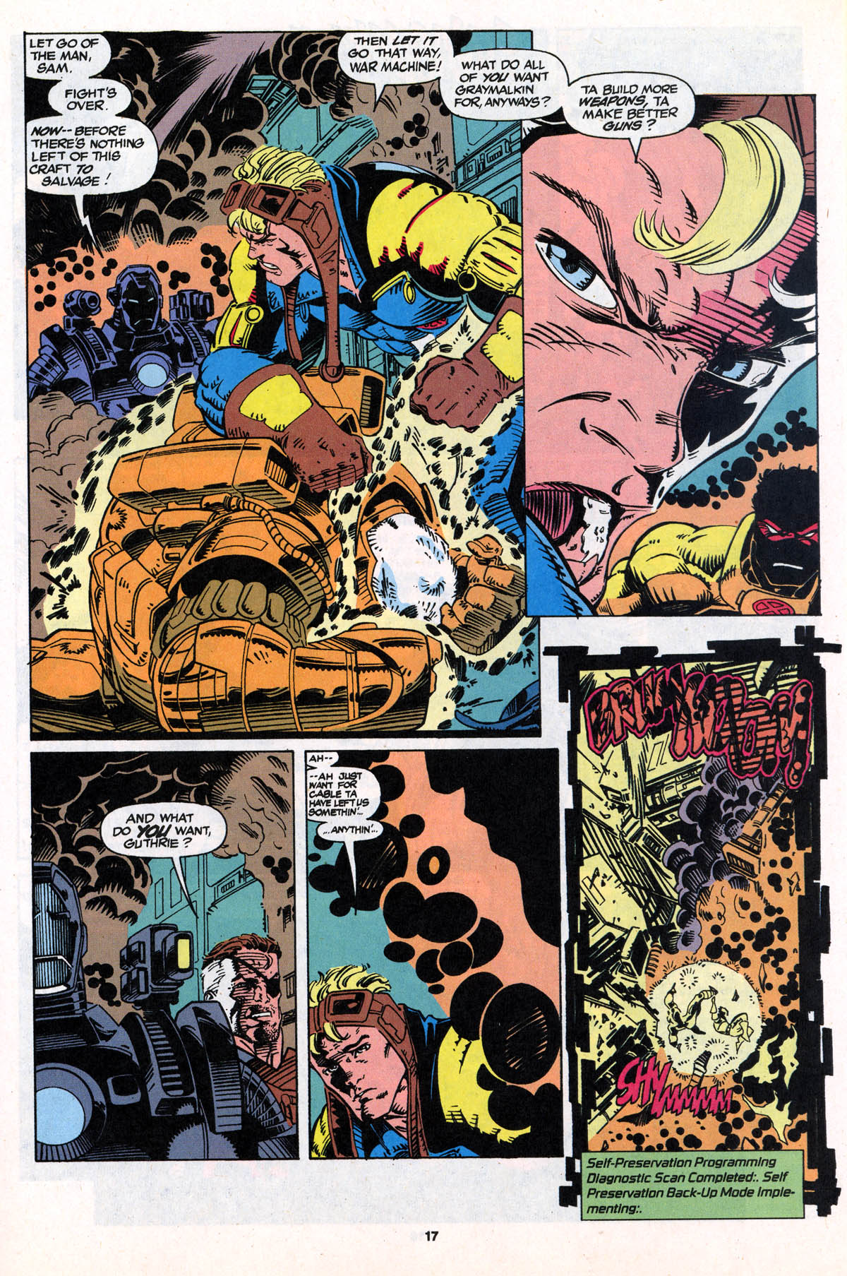 Read online X-Force (1991) comic -  Issue #21 - 18