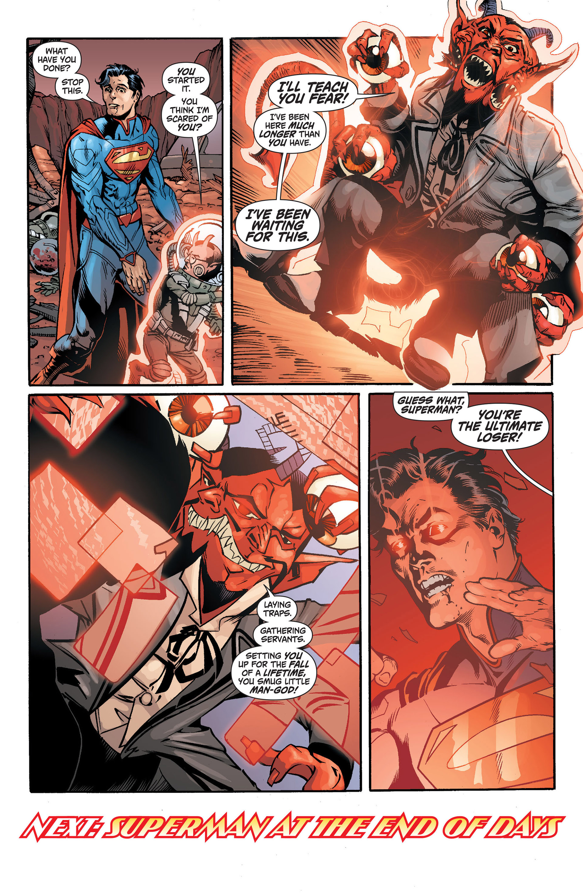 Read online Action Comics (2011) comic -  Issue #14 - 23