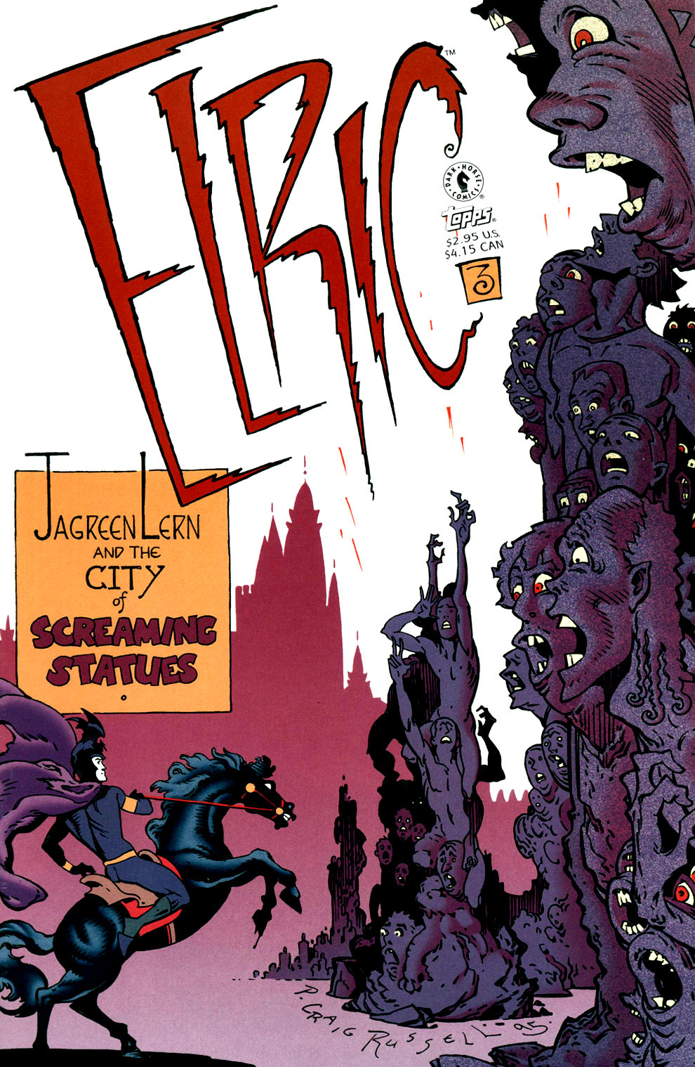 Read online Elric: Stormbringer comic -  Issue #3 - 1
