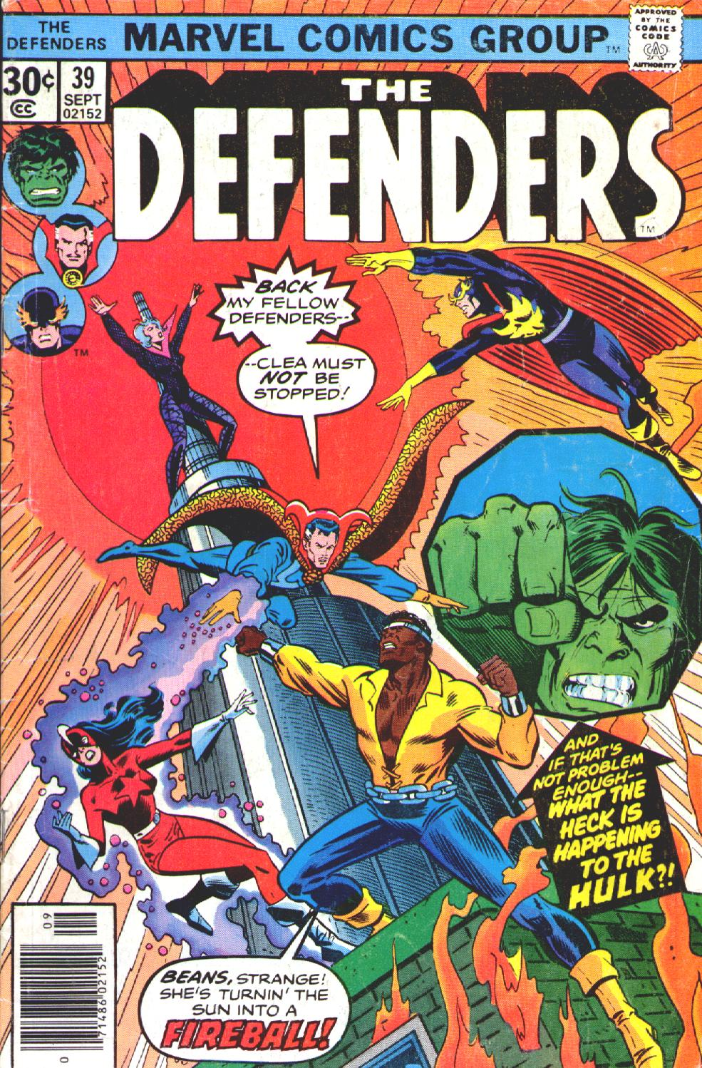 The Defenders (1972) issue 39 - Page 1