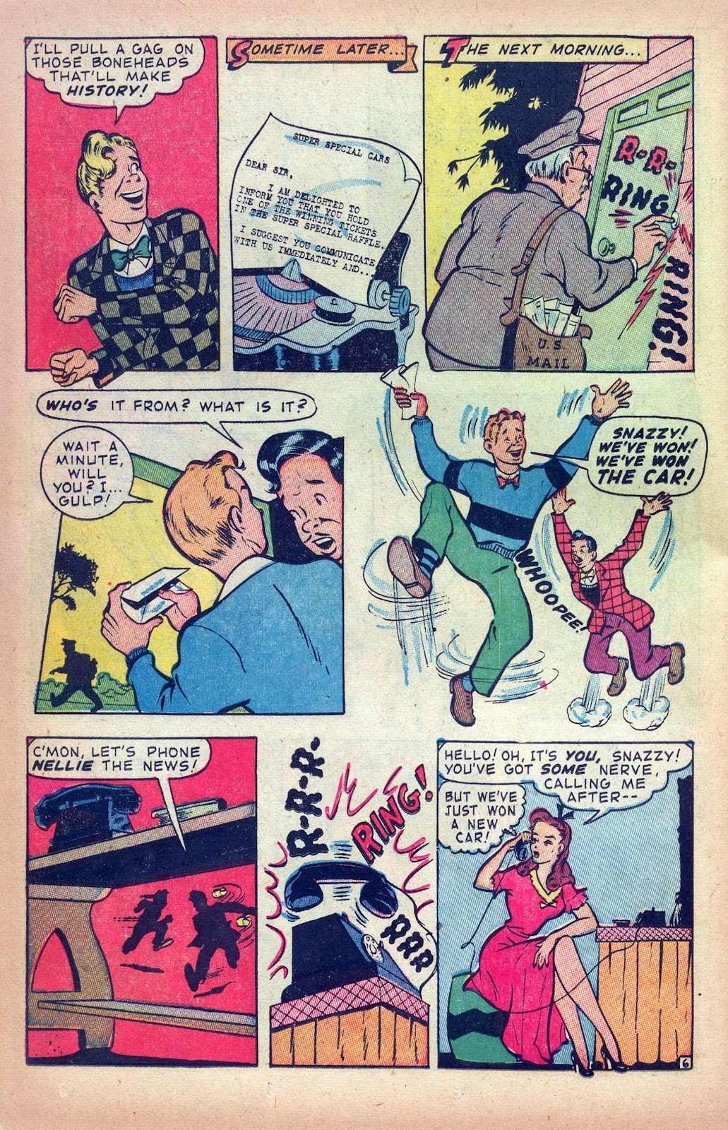 Read online Joker Comics comic -  Issue #28 - 36