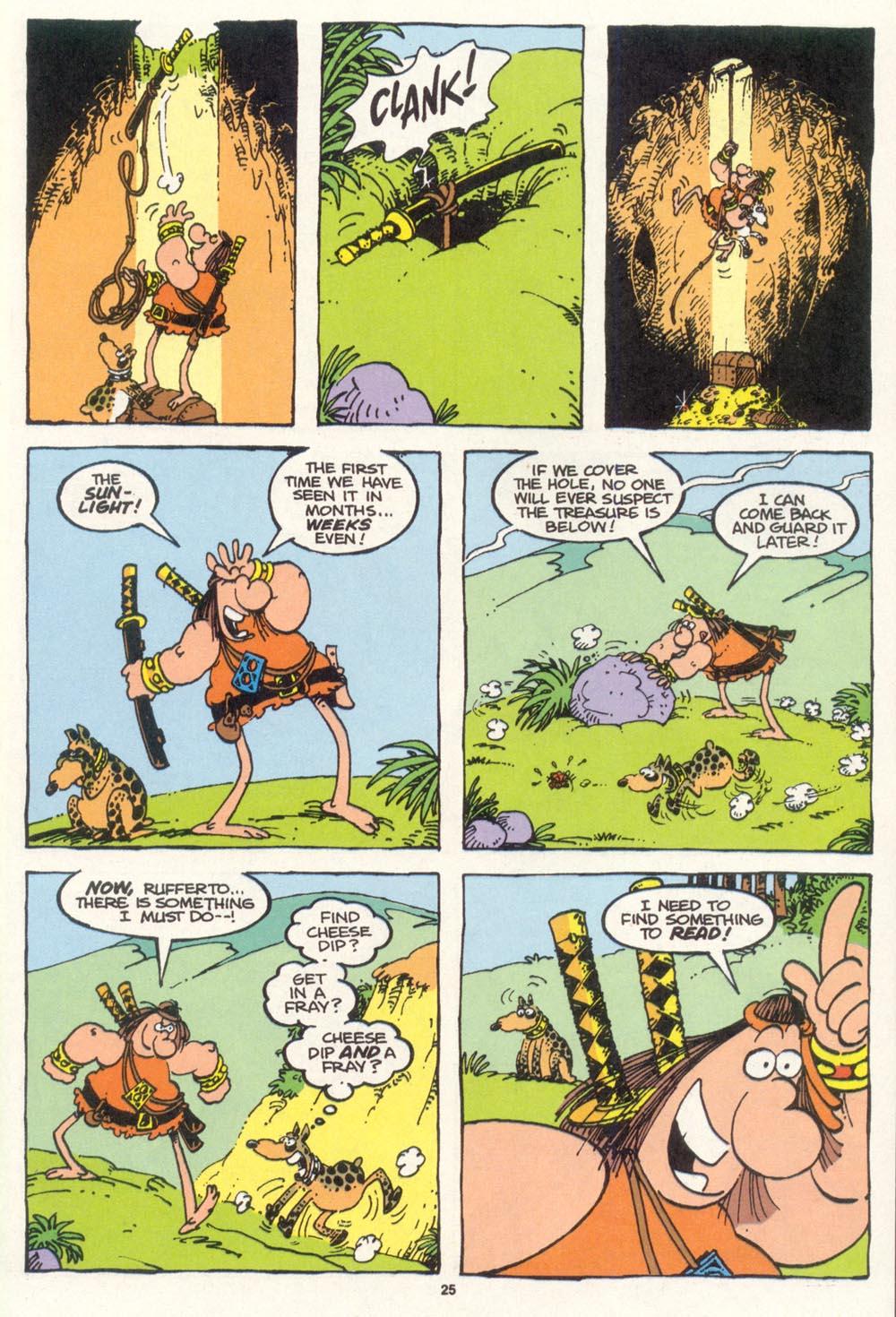 Read online Sergio Aragonés Groo the Wanderer comic -  Issue #100 - 26