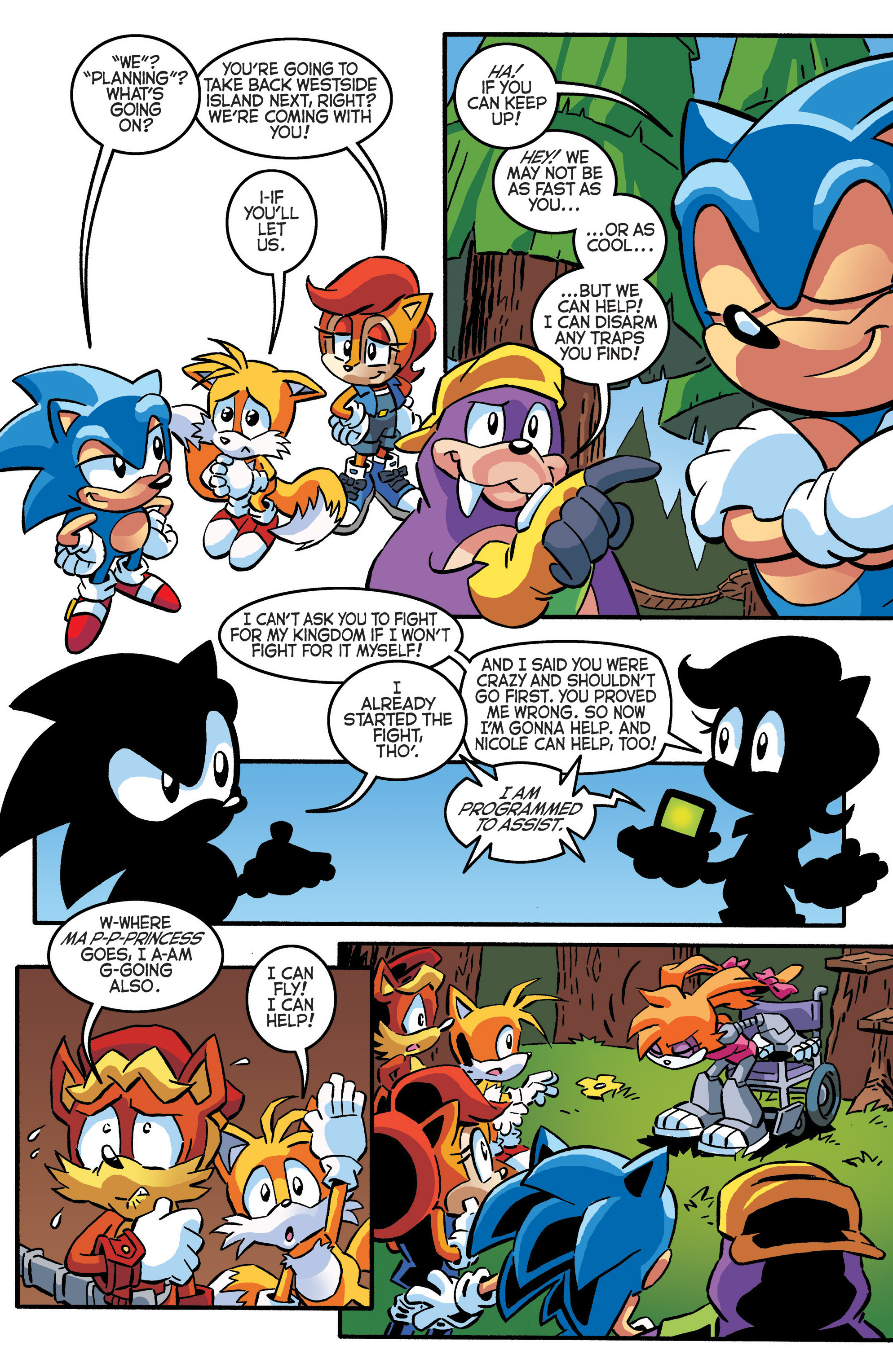 Read online Sonic The Hedgehog comic -  Issue #288 - 20