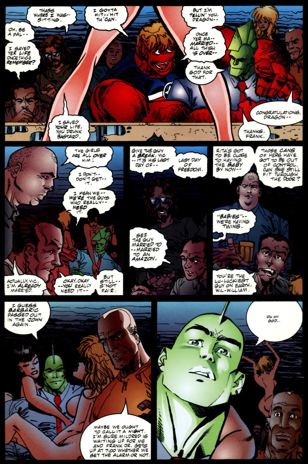 The Savage Dragon (1993) Issue #61 #64 - English 12