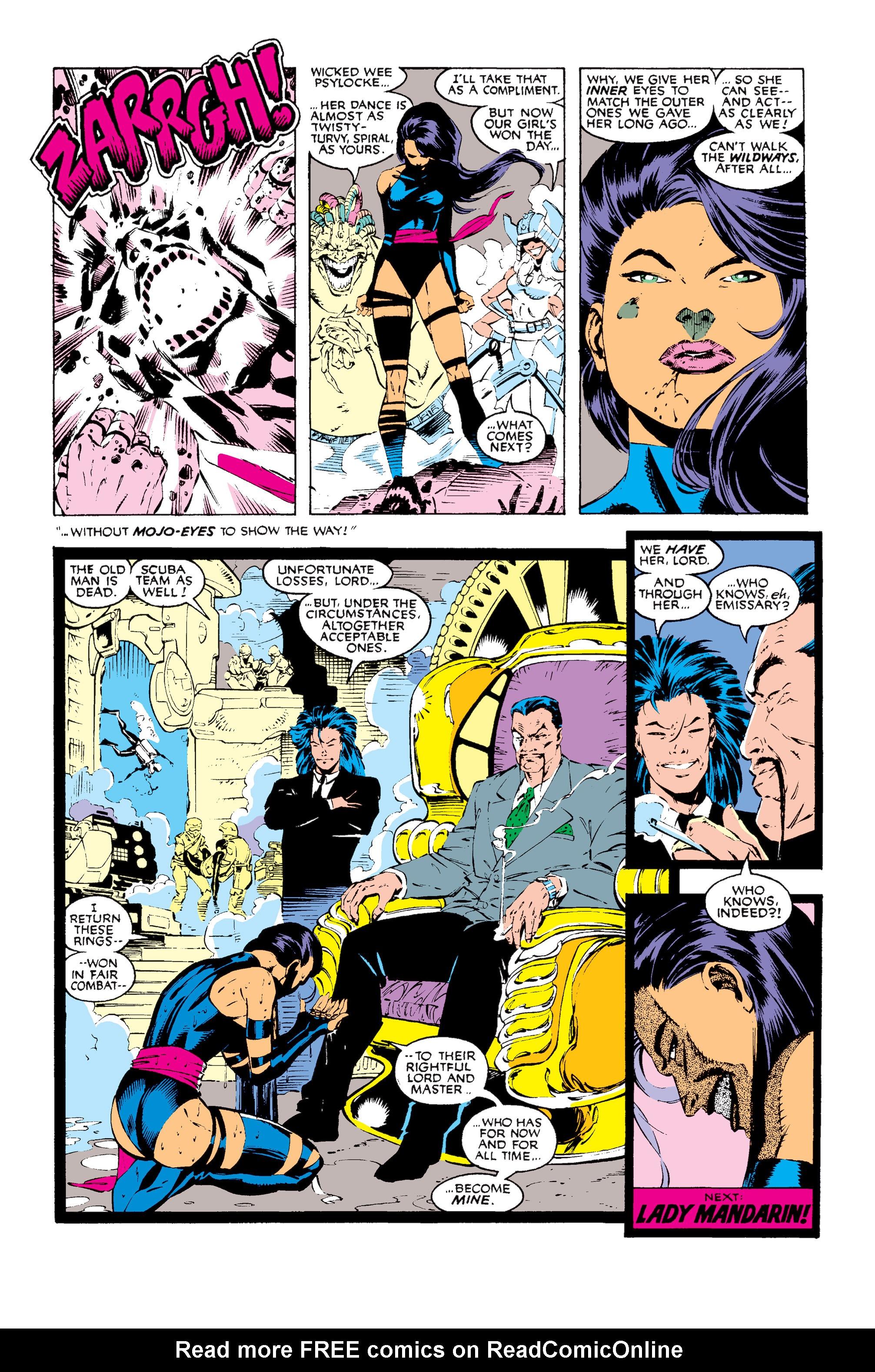 Read online Uncanny X-Men (1963) comic -  Issue #256 - 24