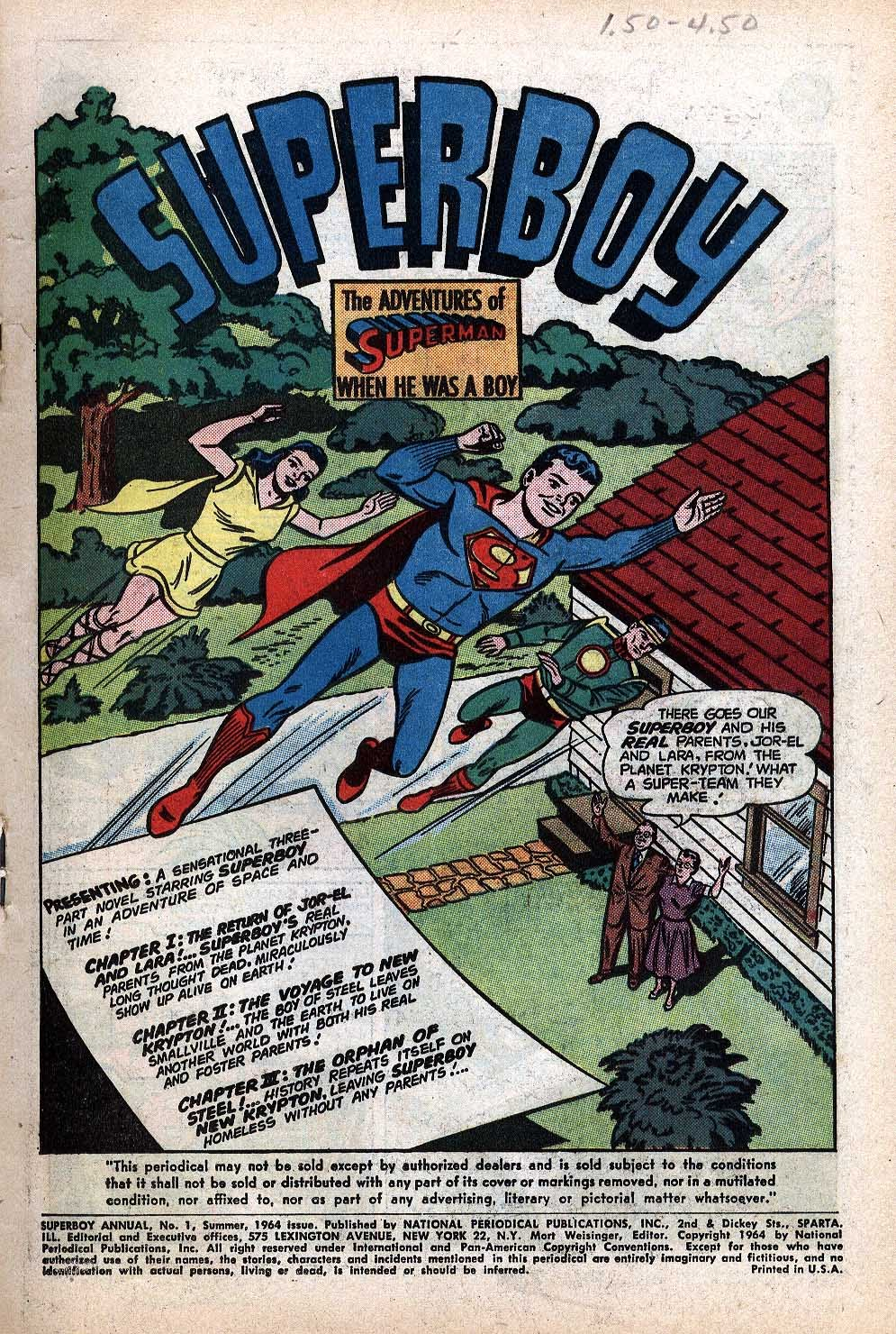 Superboy (1949) issue Annual 1 - Page 3