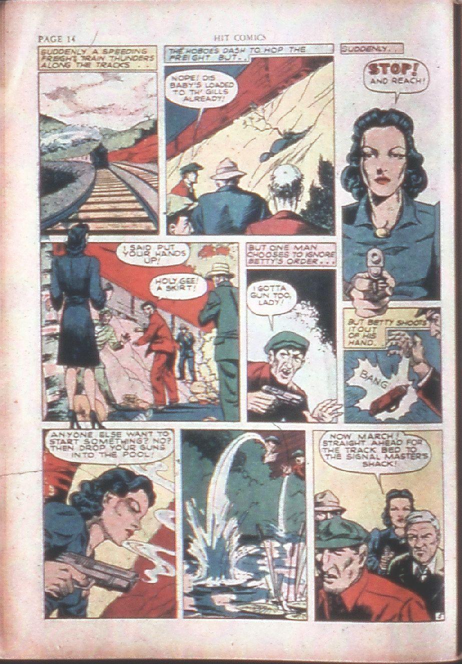 Read online Hit Comics comic -  Issue #15 - 16