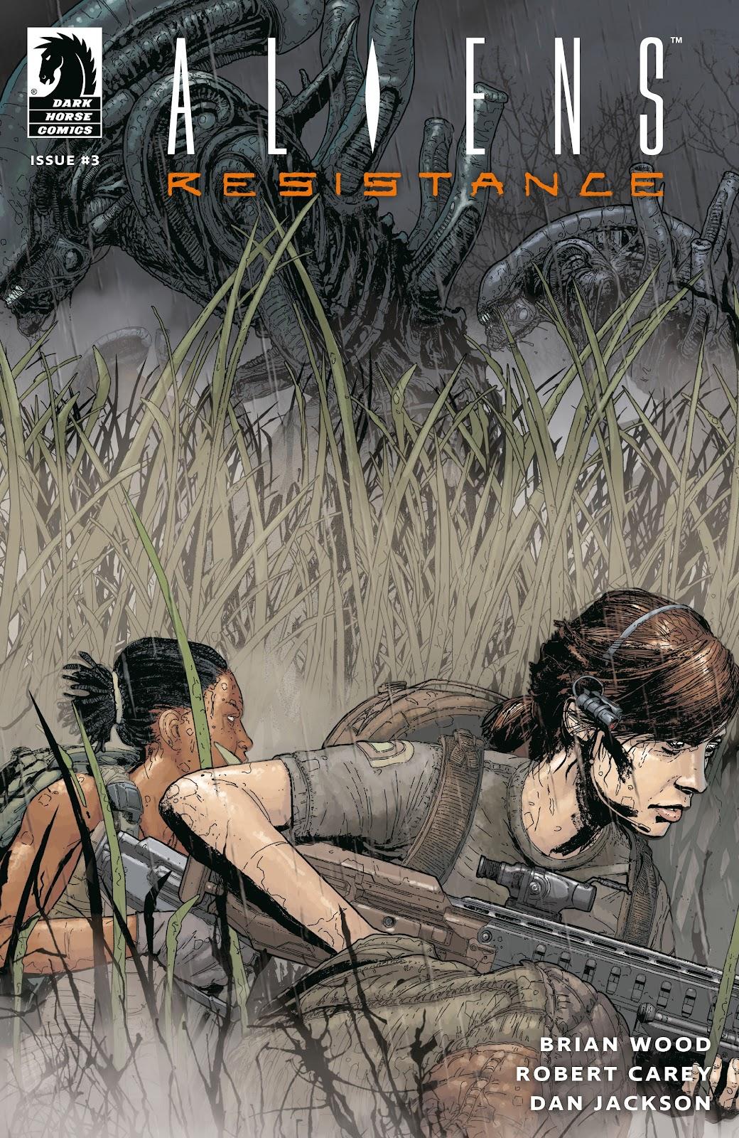 Read online Aliens: Resistance comic -  Issue #3 - 1