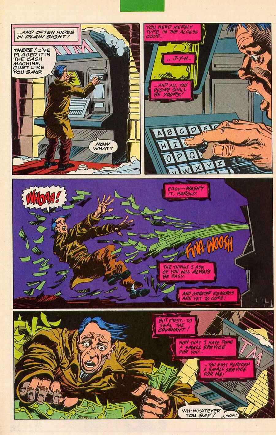 Read online Sleepwalker Holiday Special comic -  Issue # Full - 6