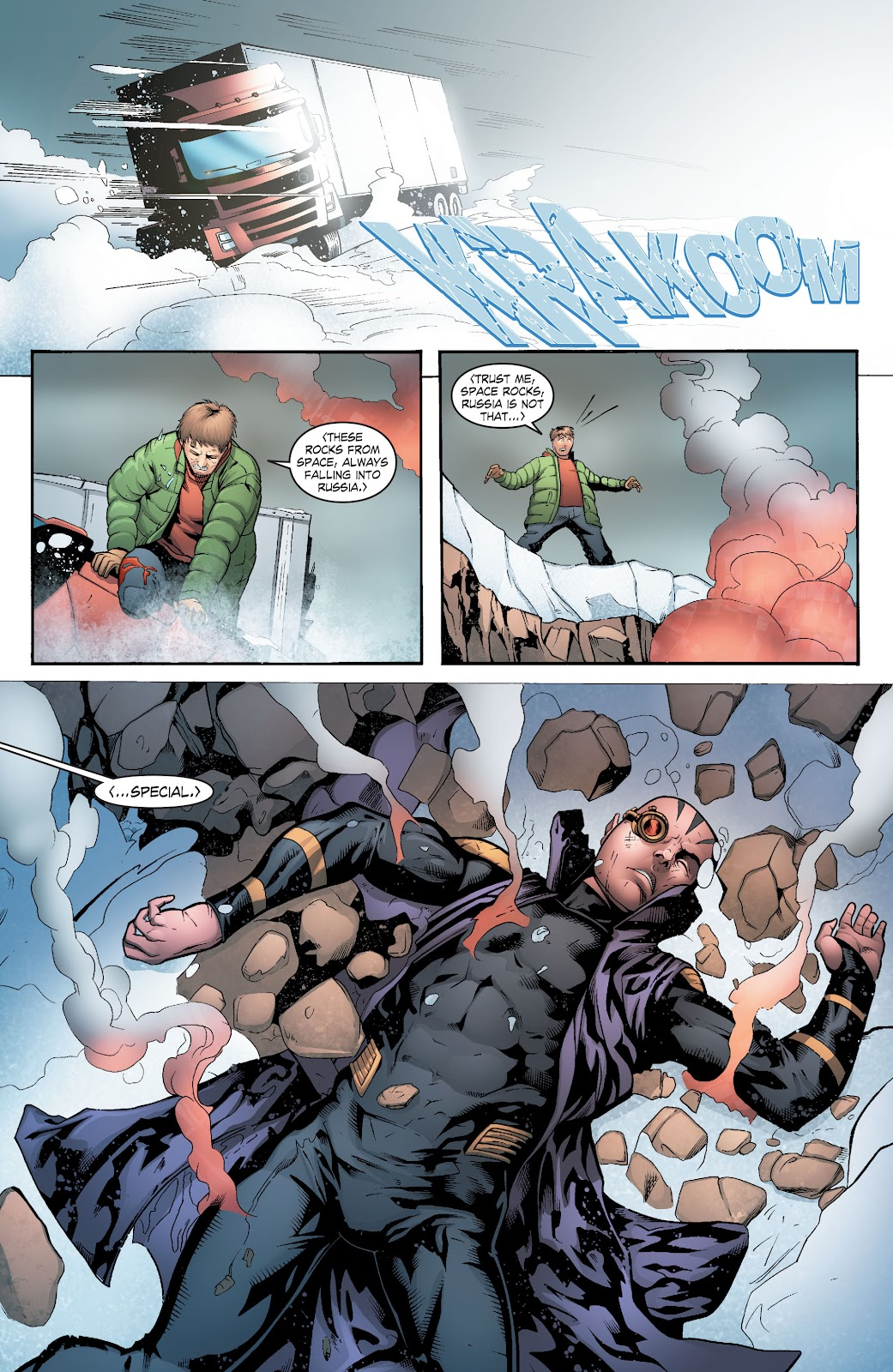 Read online Smallville Season 11 [II] comic -  Issue # TPB 6 - 58