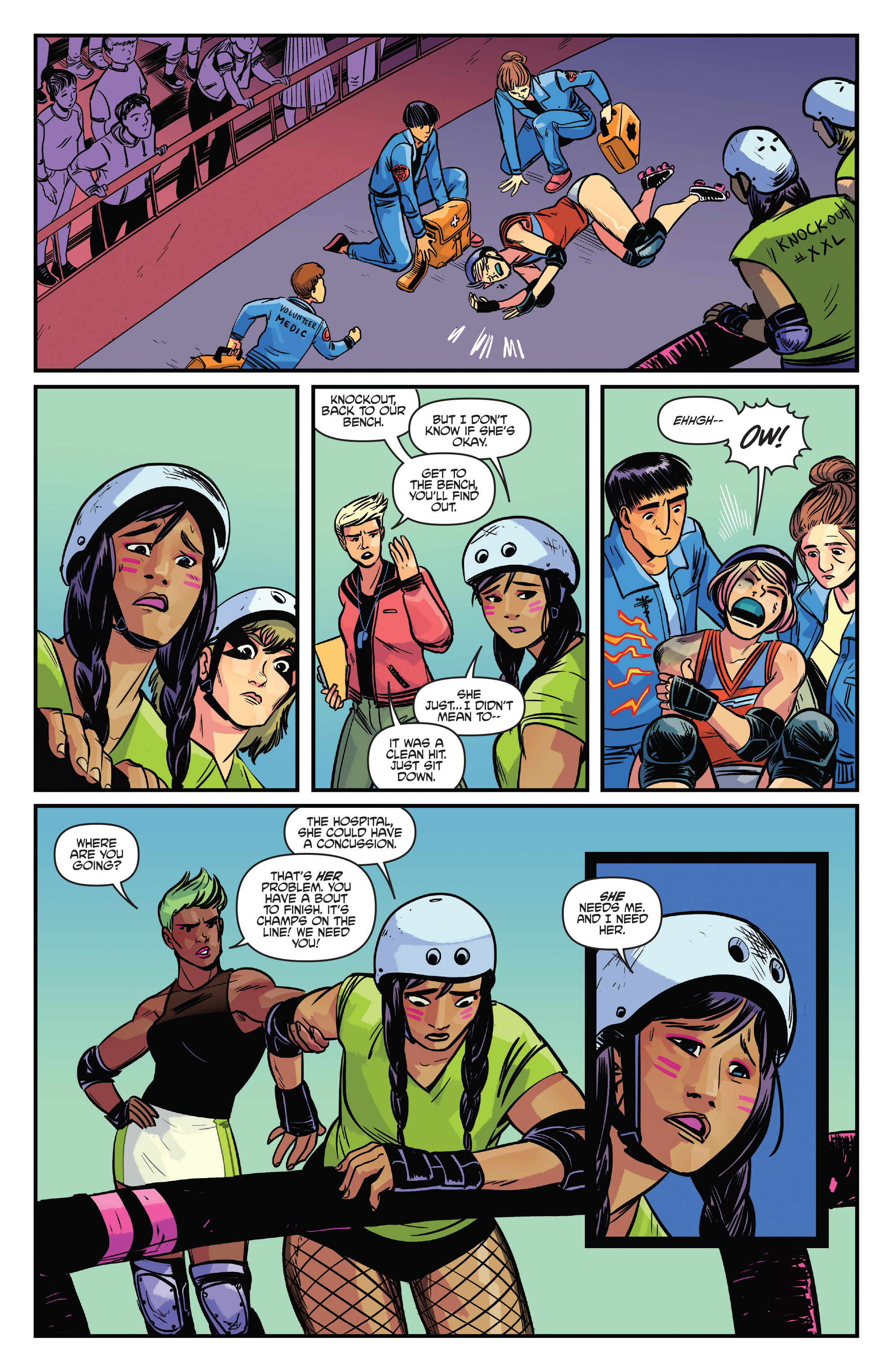 Read online Slam! comic -  Issue #4 - 22