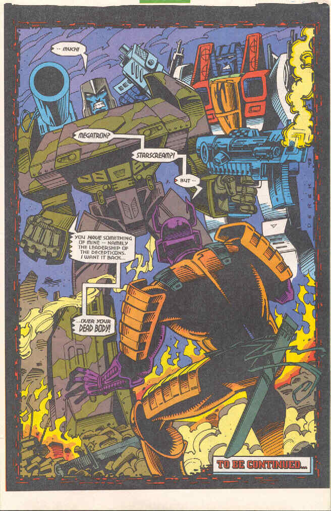 Read online Transformers: Generation 2 comic -  Issue #4 - 24