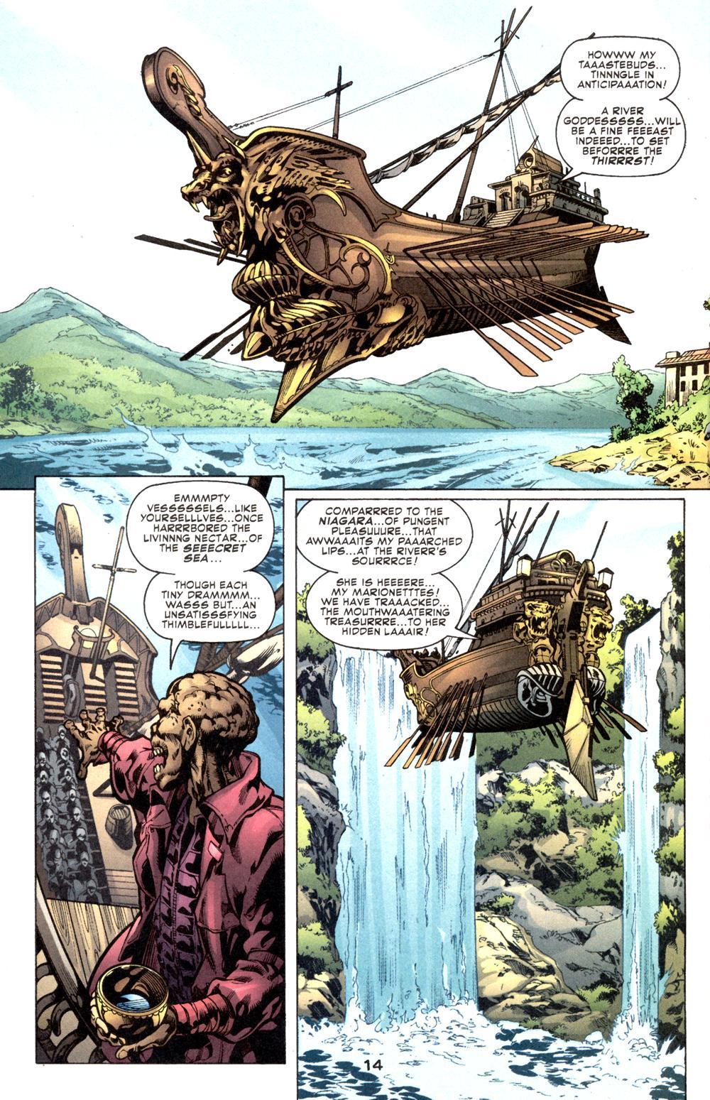 Read online Aquaman (2003) comic -  Issue #6 - 16