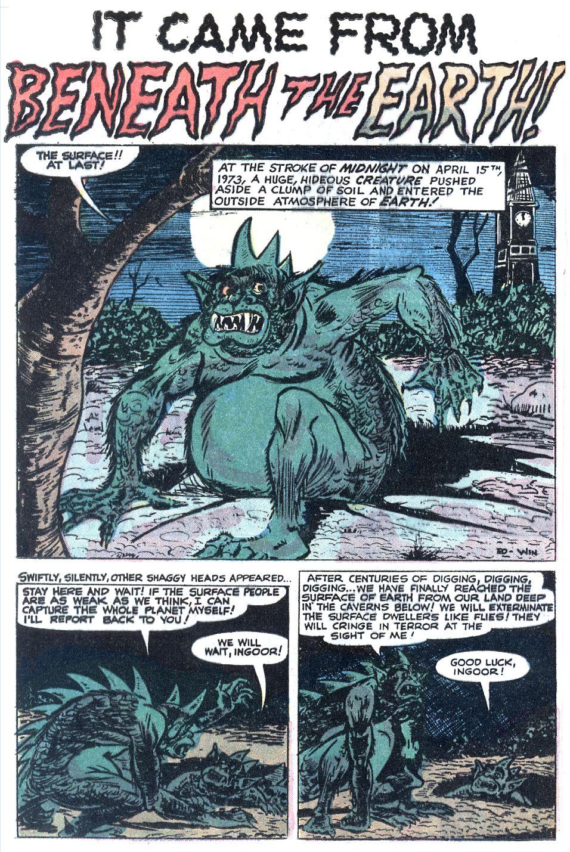 Read online Adventures into Weird Worlds comic -  Issue #12 - 2