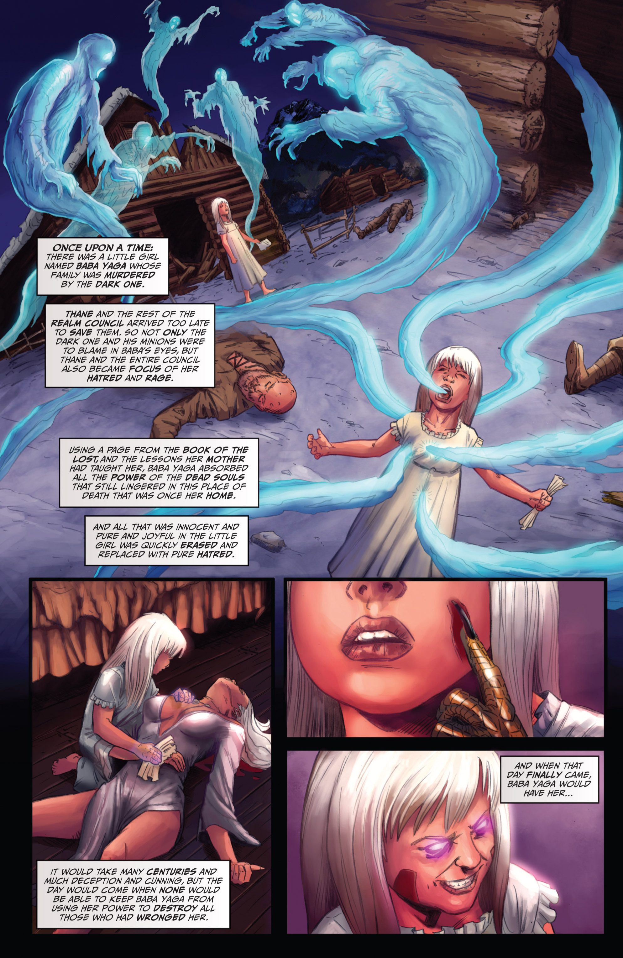 Read online Grimm Fairy Tales presents Grimm Universe comic -  Issue # TPB - 173