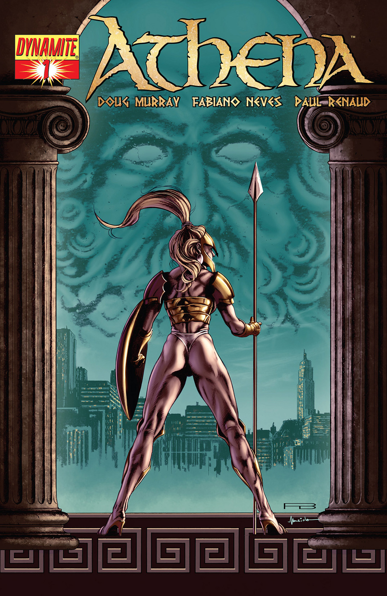 Read online Athena comic -  Issue #1 - 4