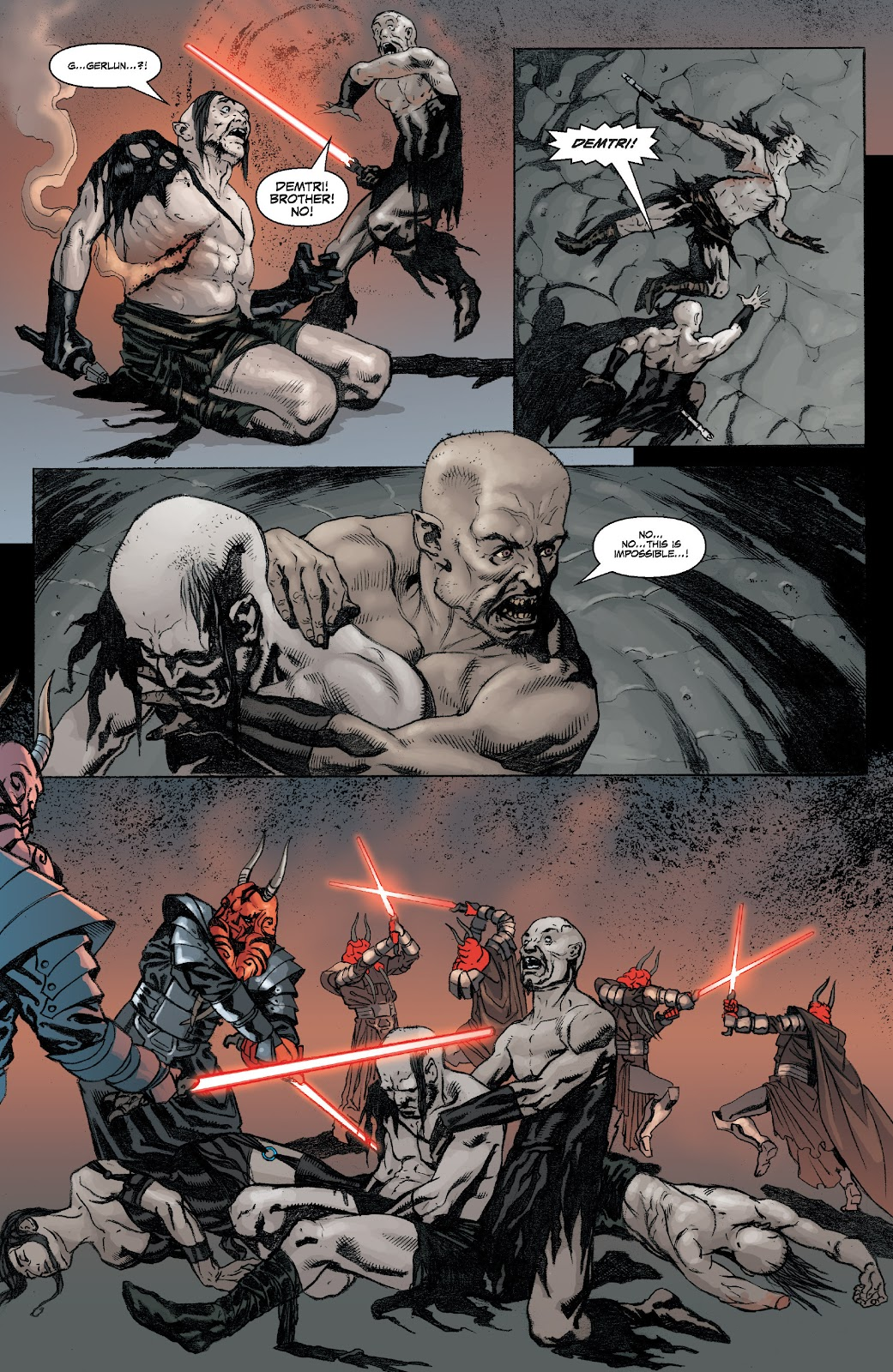 Read online Star Wars Legends: Legacy - Epic Collection comic -  Issue # TPB 2 (Part 1) - 63