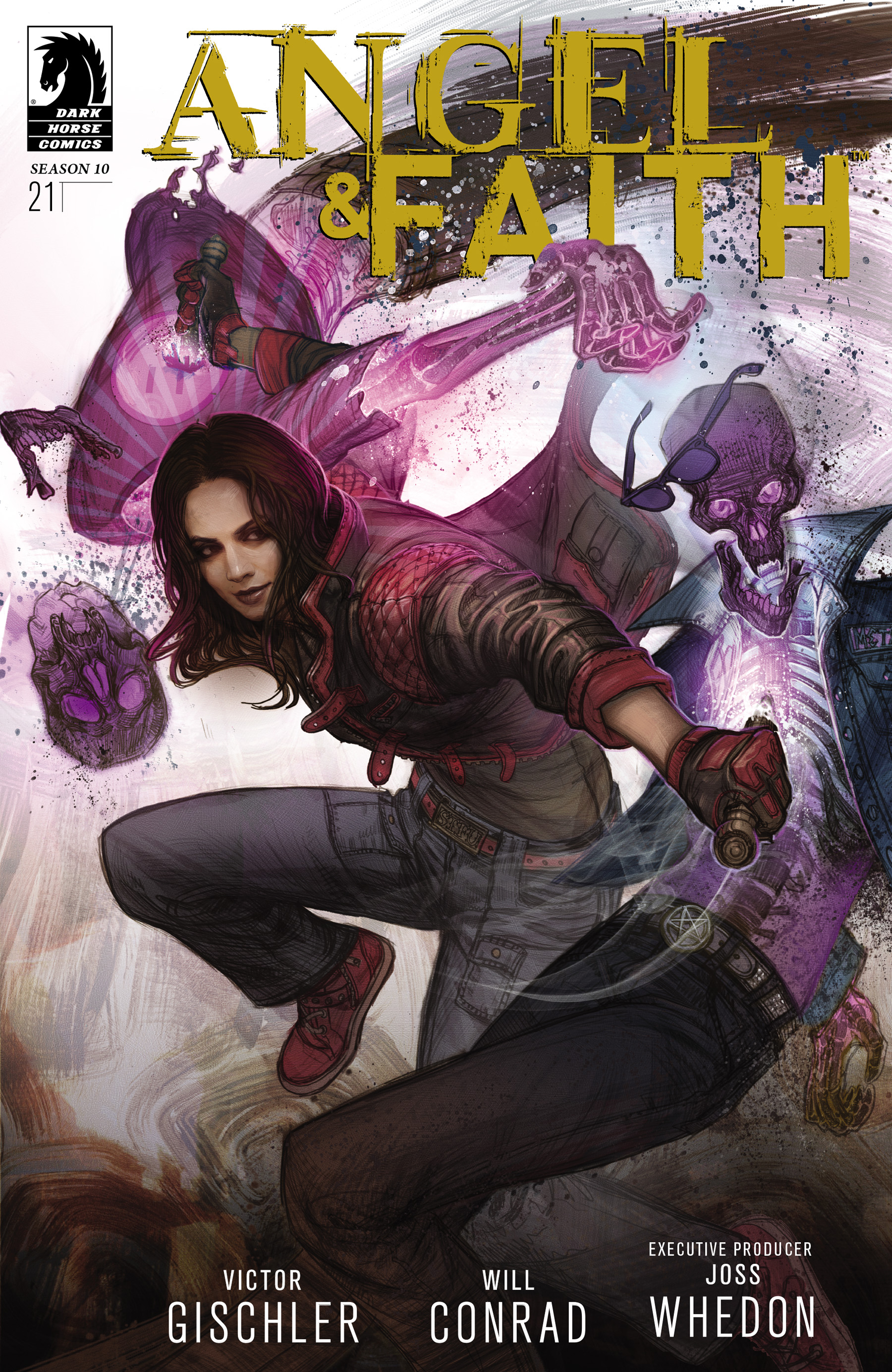 Read online Angel & Faith Season 10 comic -  Issue #21 - 1