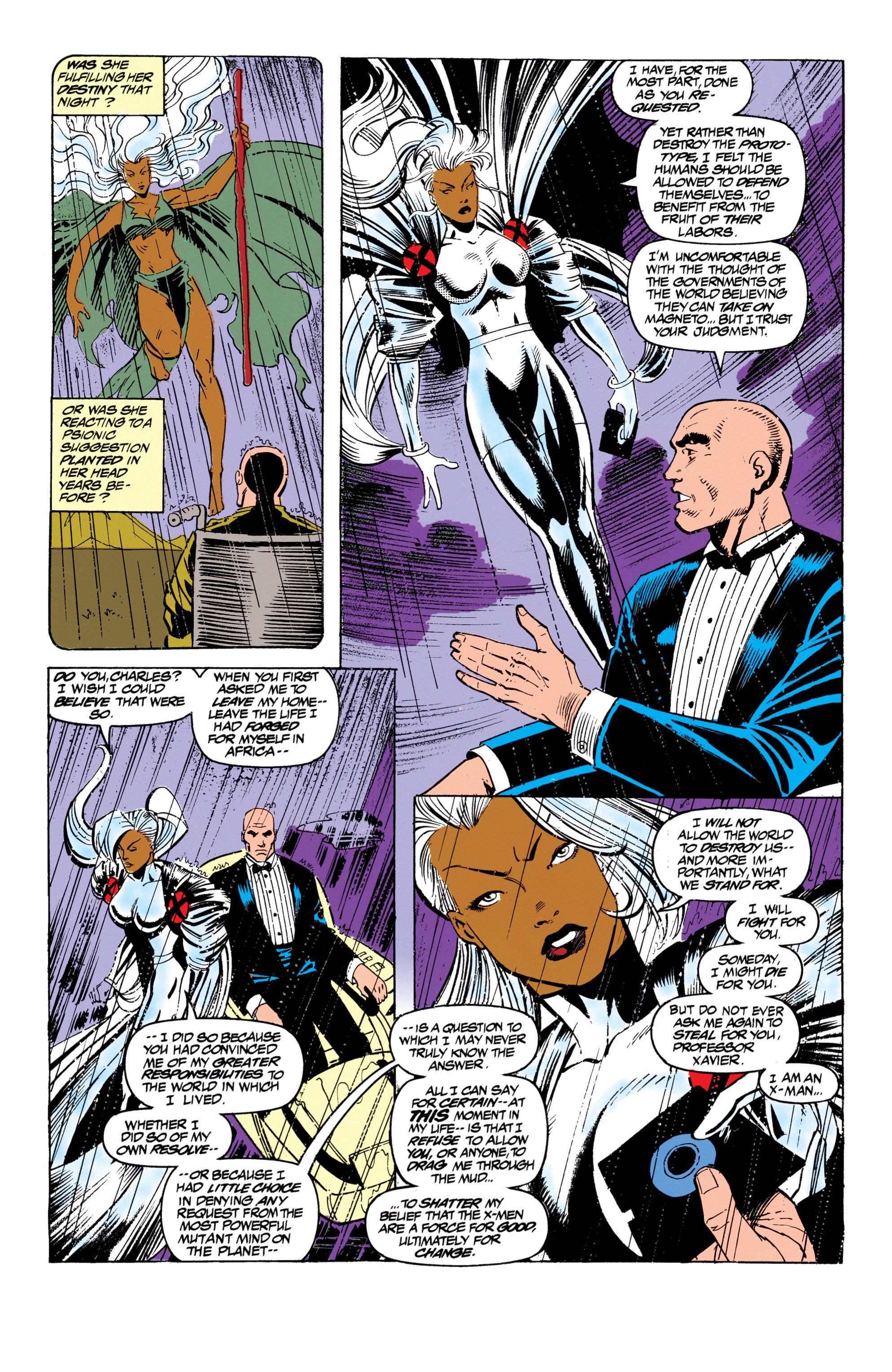 Read online Uncanny X-Men (1963) comic -  Issue #305 - 21